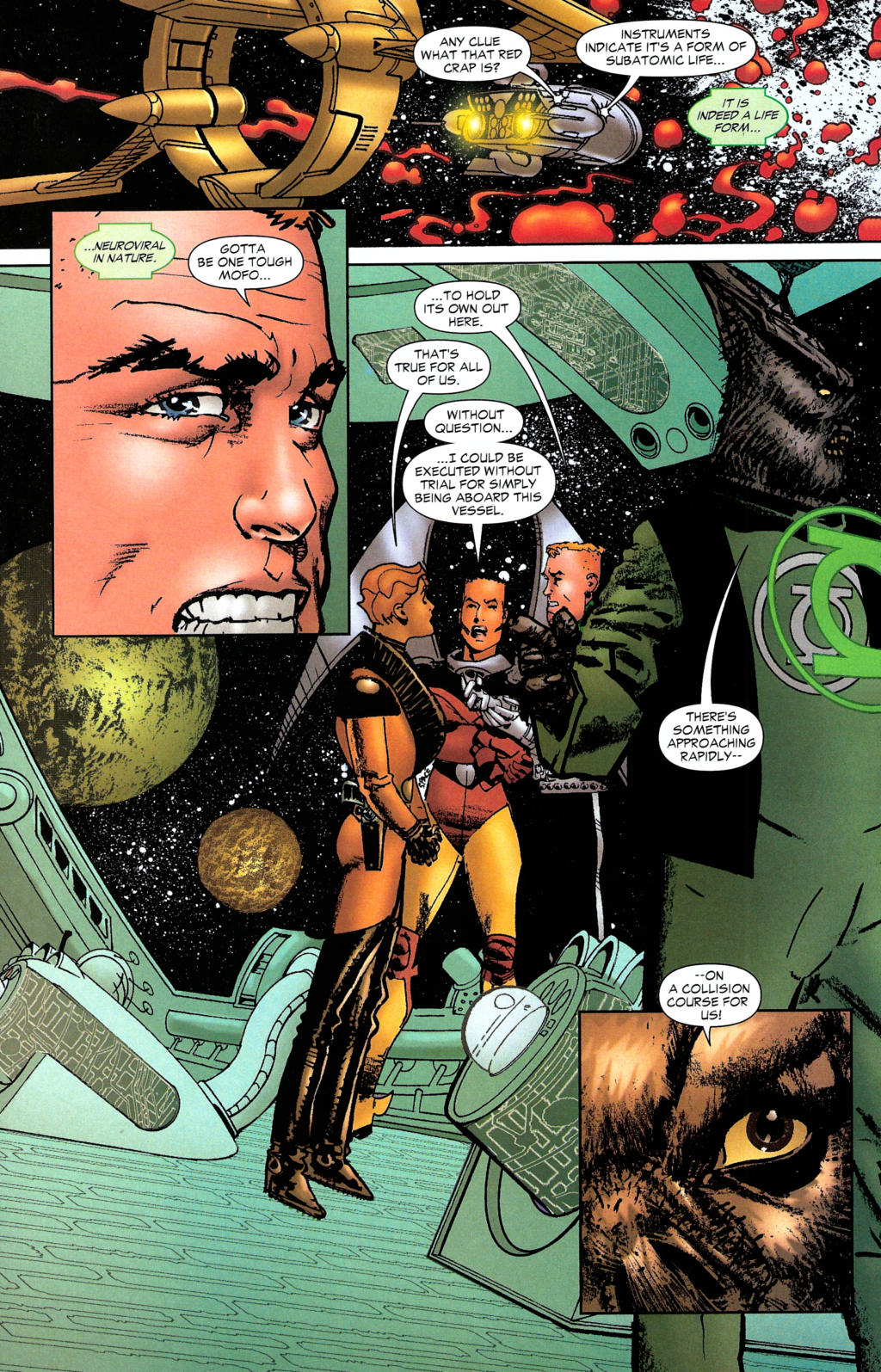 Read online Guy Gardner: Collateral Damage comic -  Issue #2 - 22