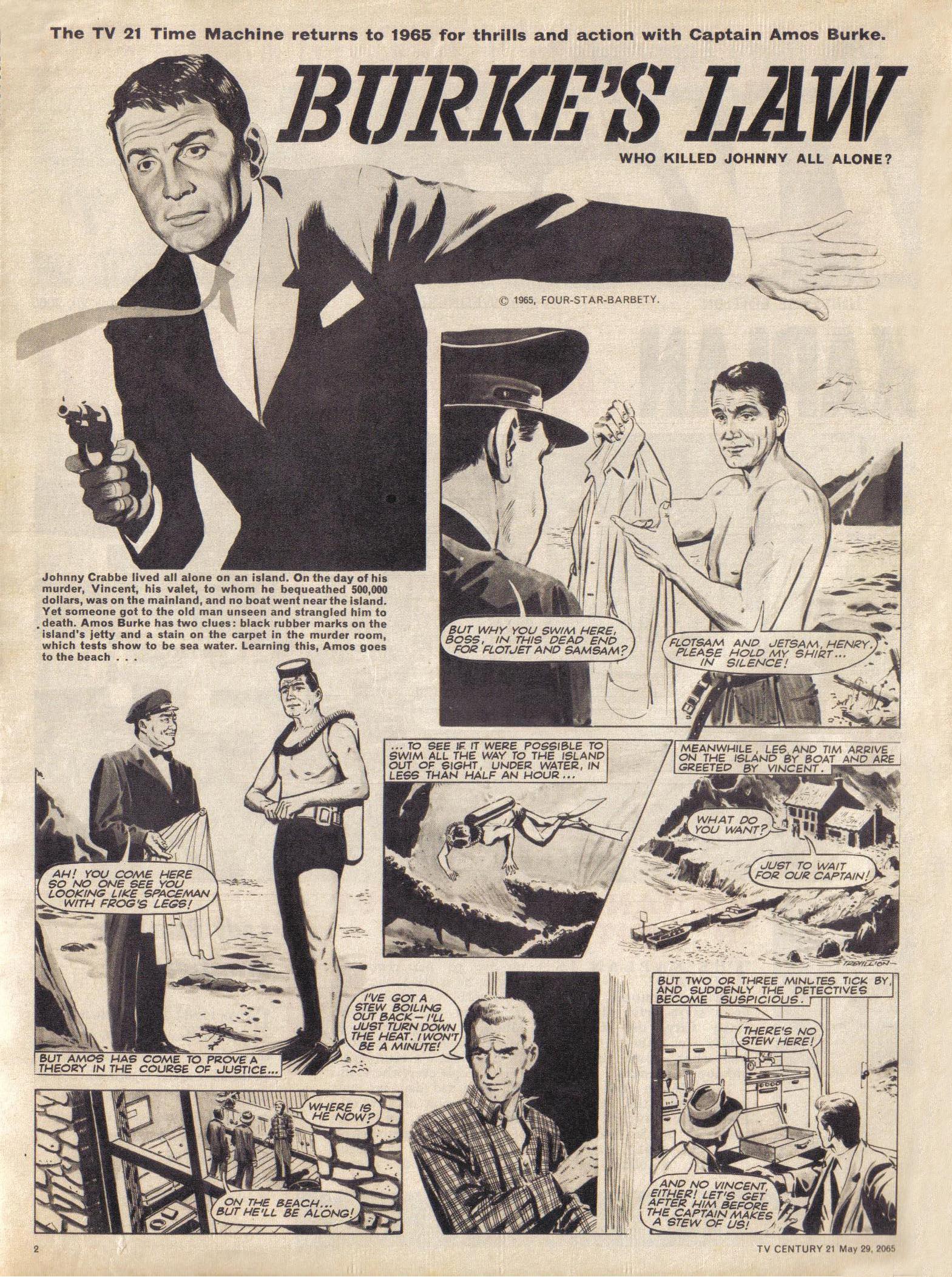 Read online TV Century 21 (TV 21) comic -  Issue #19 - 2