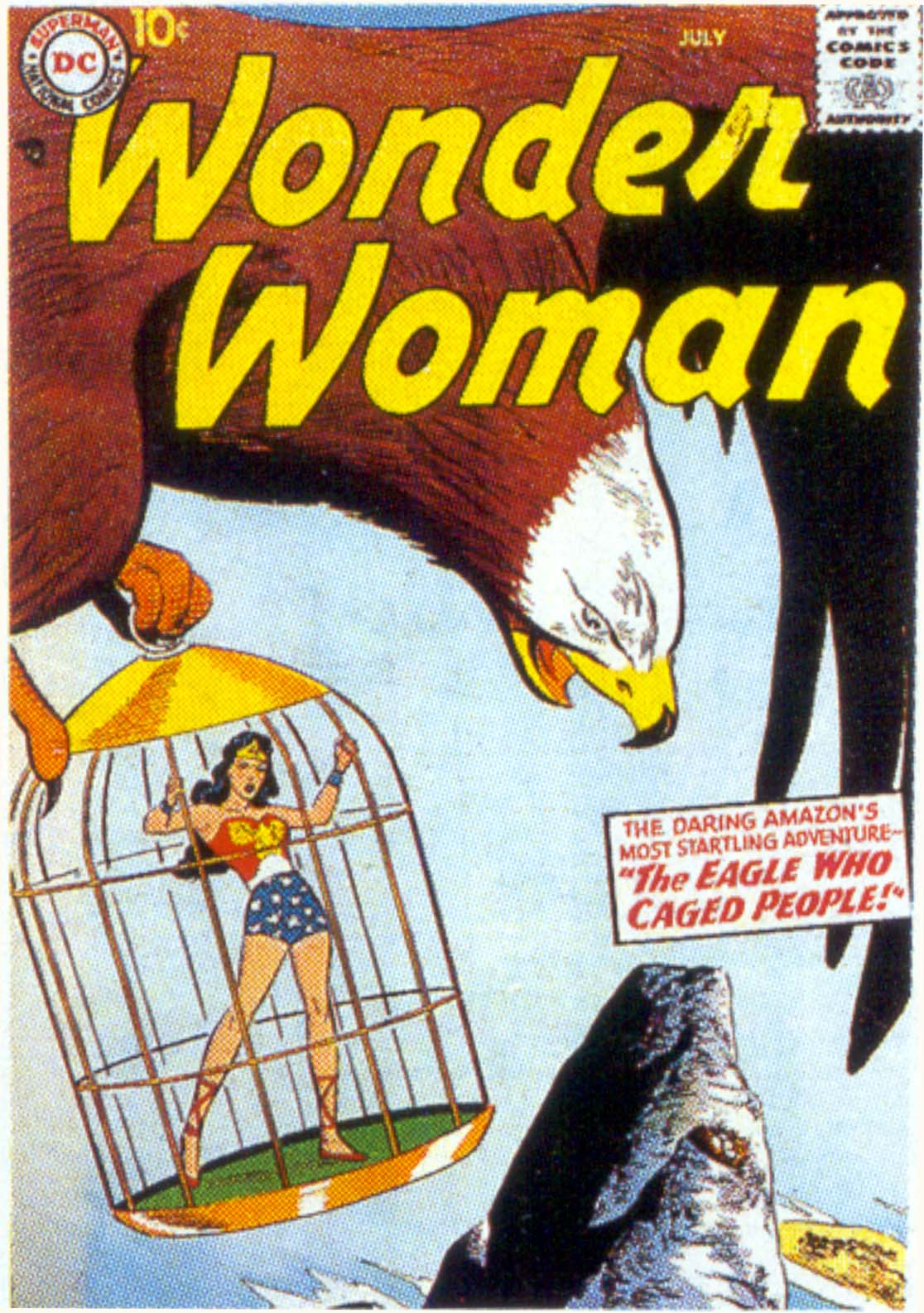 Read online Wonder Woman (1942) comic -  Issue #91 - 1