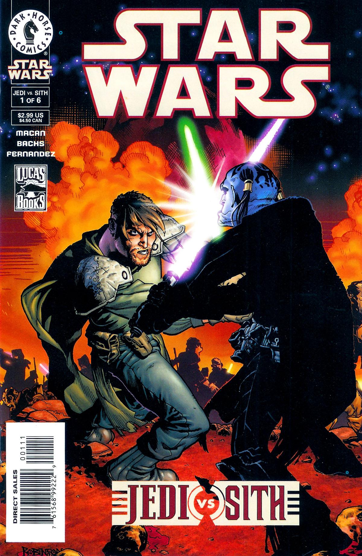 Star Wars: Jedi vs. Sith 1 Page 1