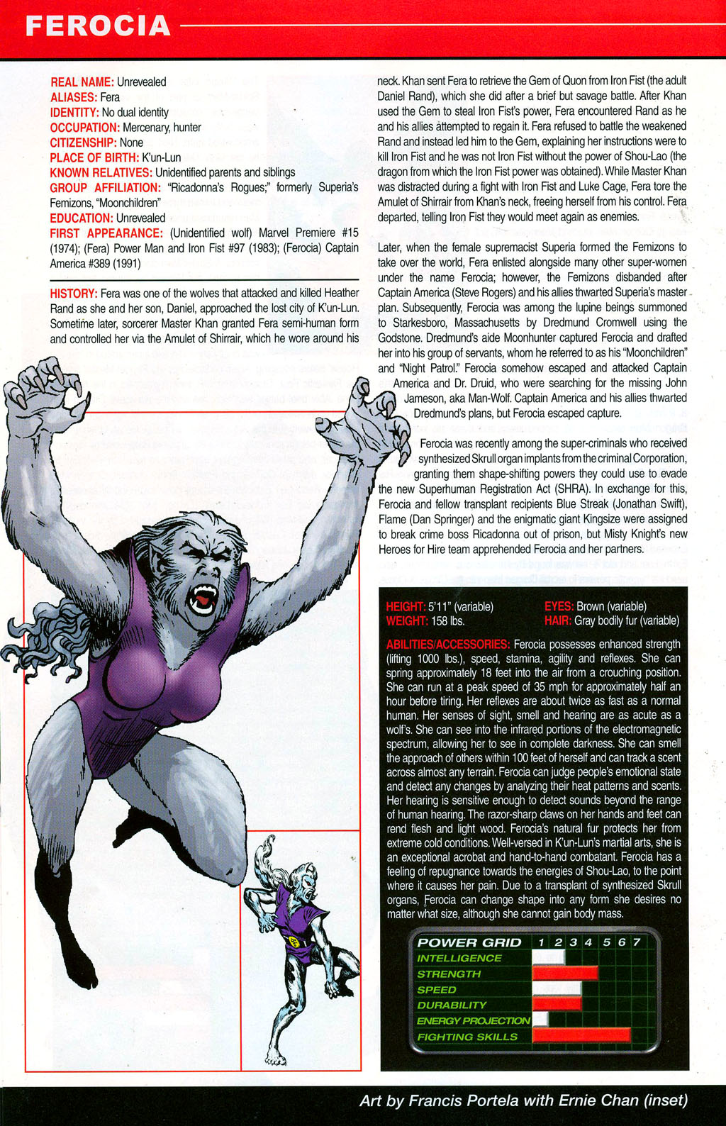 Read online All-New Official Handbook of the Marvel Universe A to Z: Update comic -  Issue #3 - 20