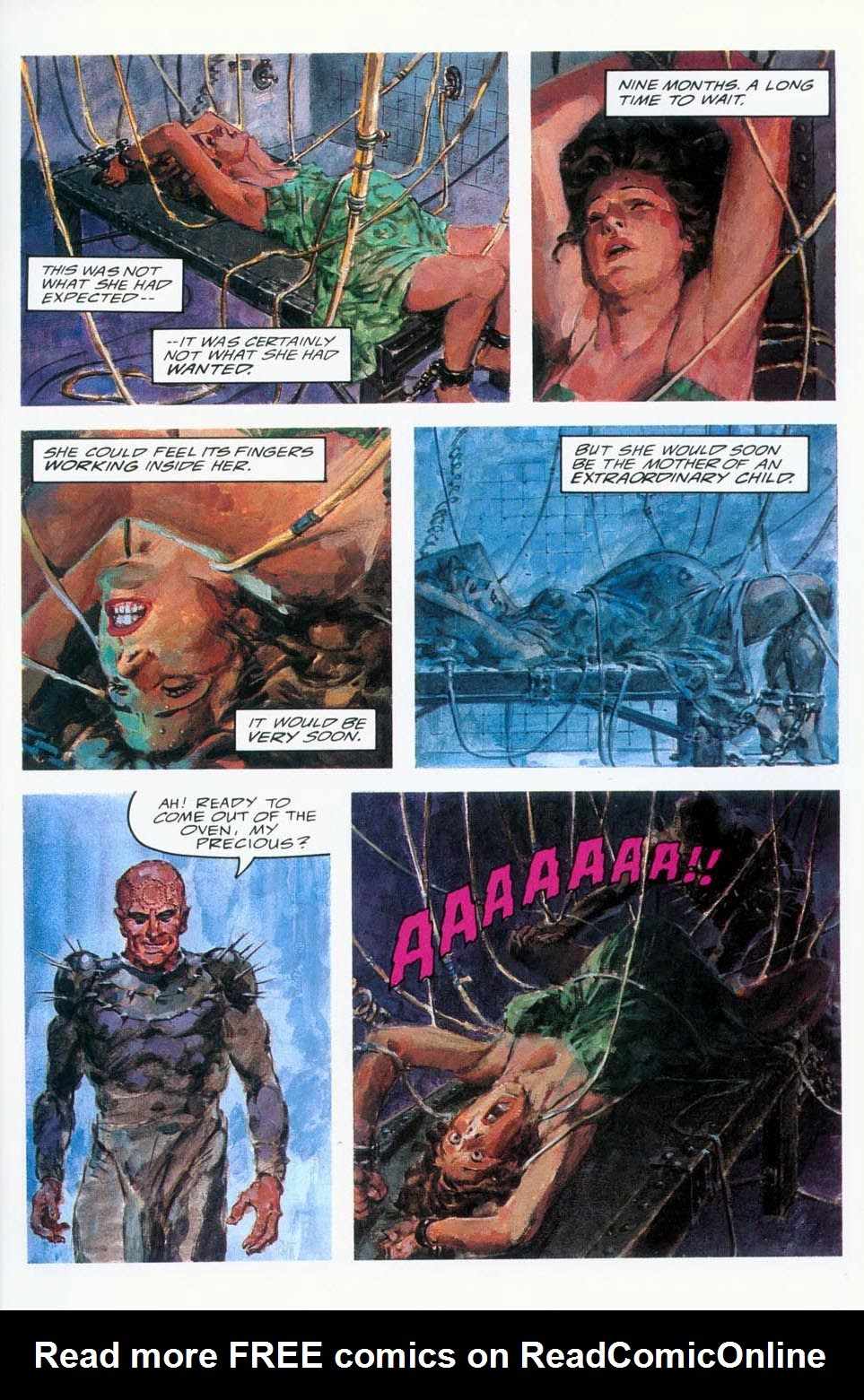 Read online Clive Barker's Hellraiser (1989) comic -  Issue # Annual 1 - 11