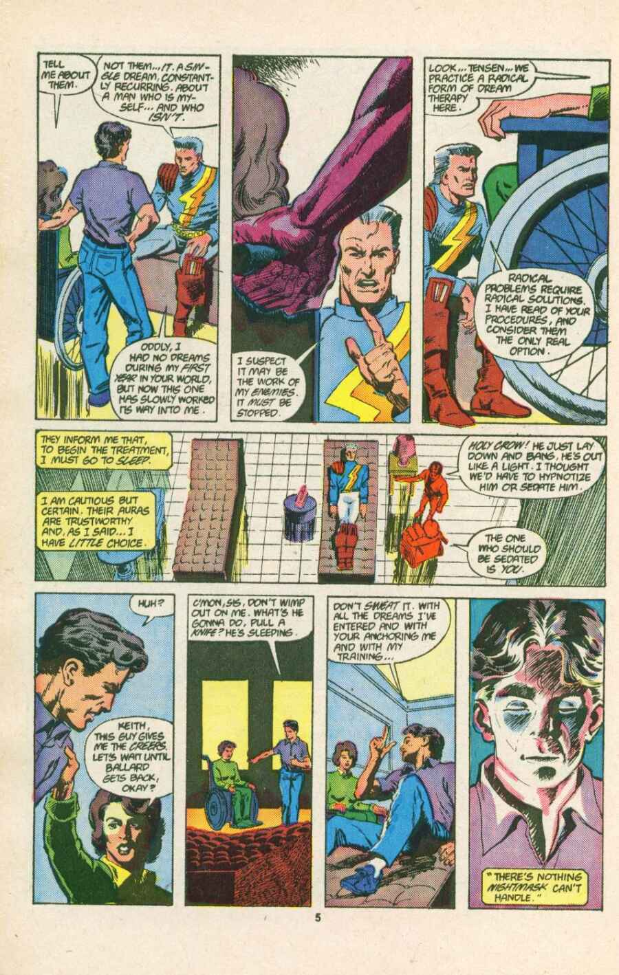 Read online Justice (1986) comic -  Issue #15 - 6