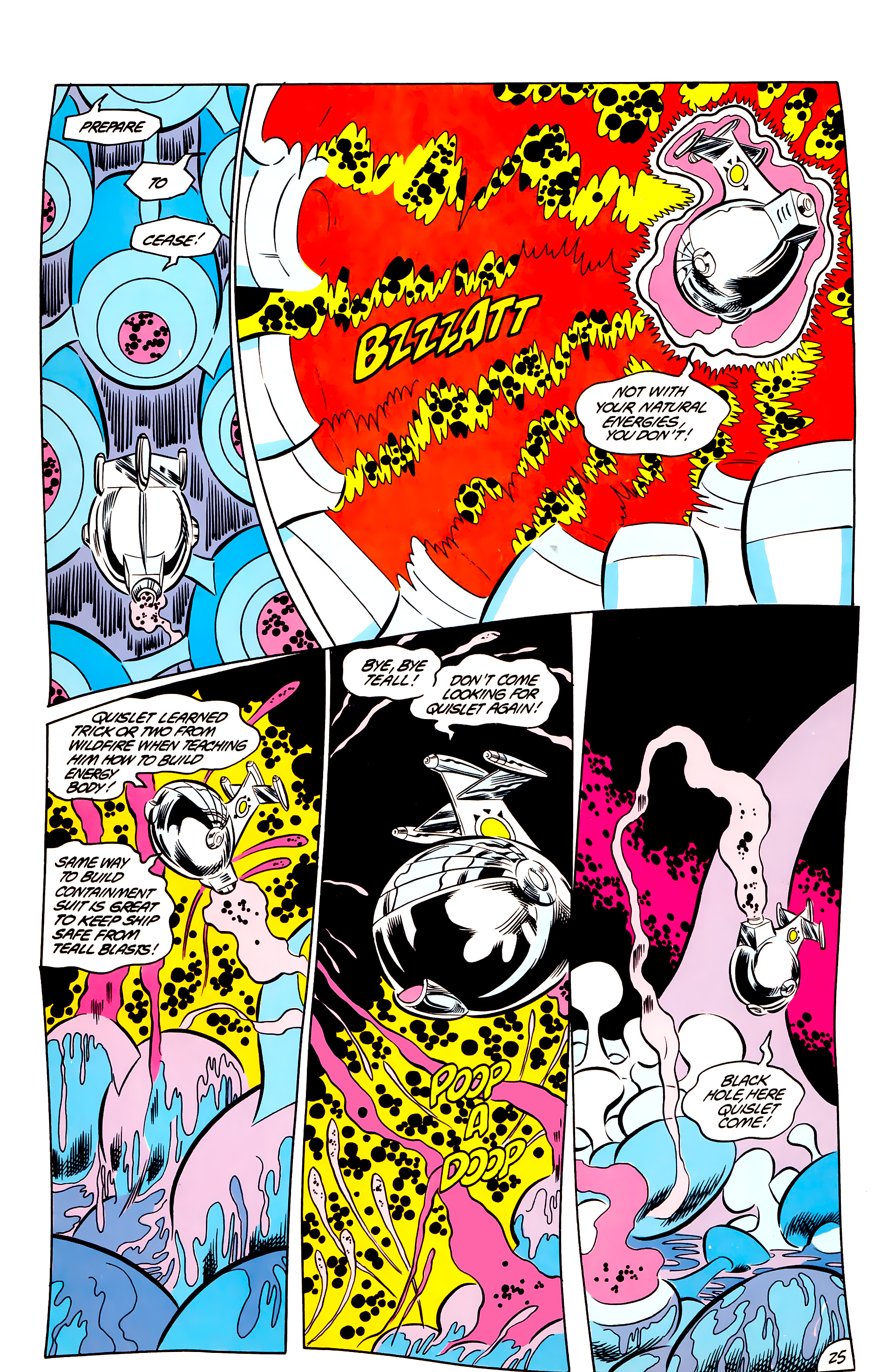 Legion of Super-Heroes (1984) 44 Page 25