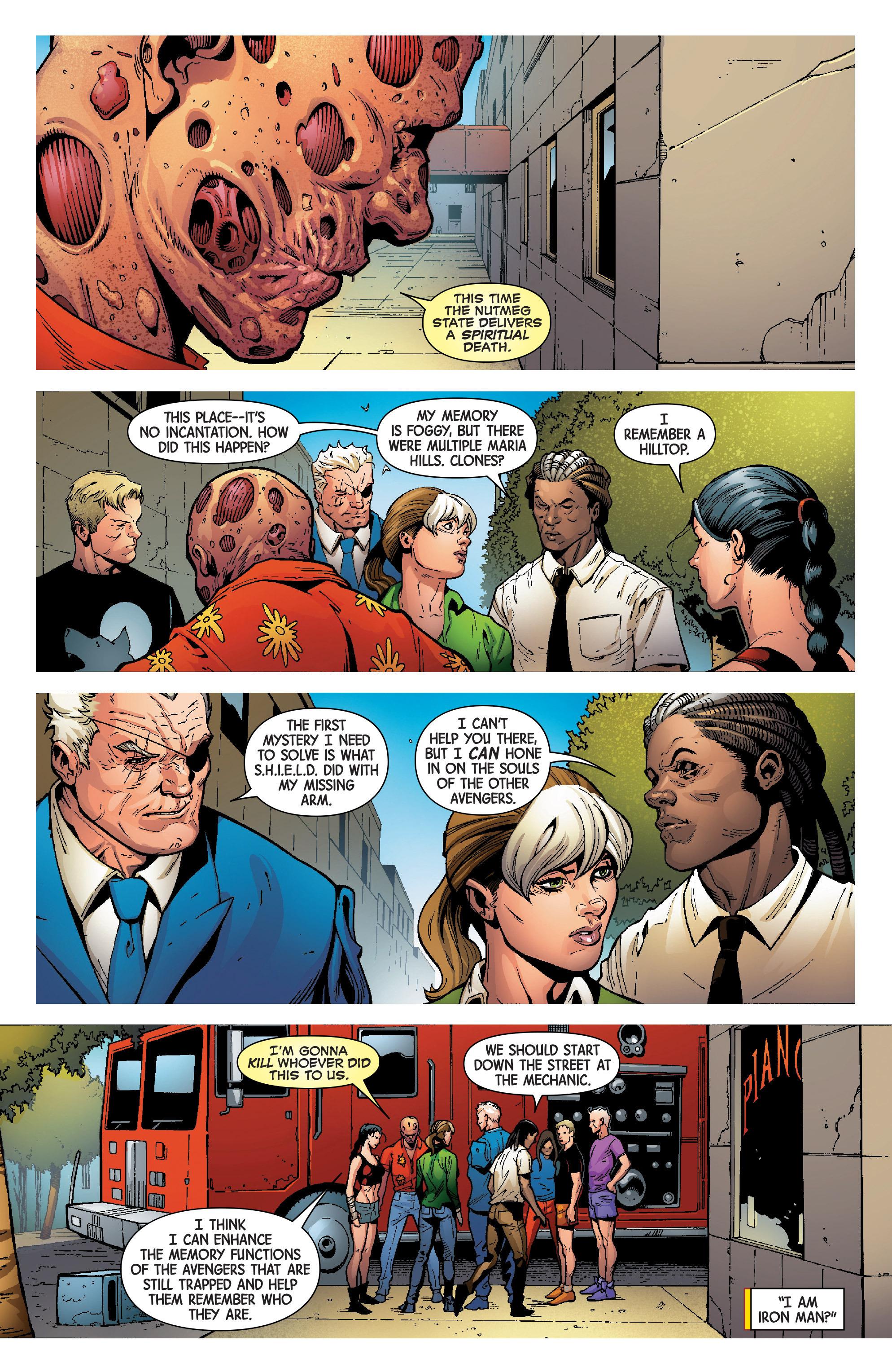 Read online Uncanny Avengers [II] comic -  Issue #8 - 17