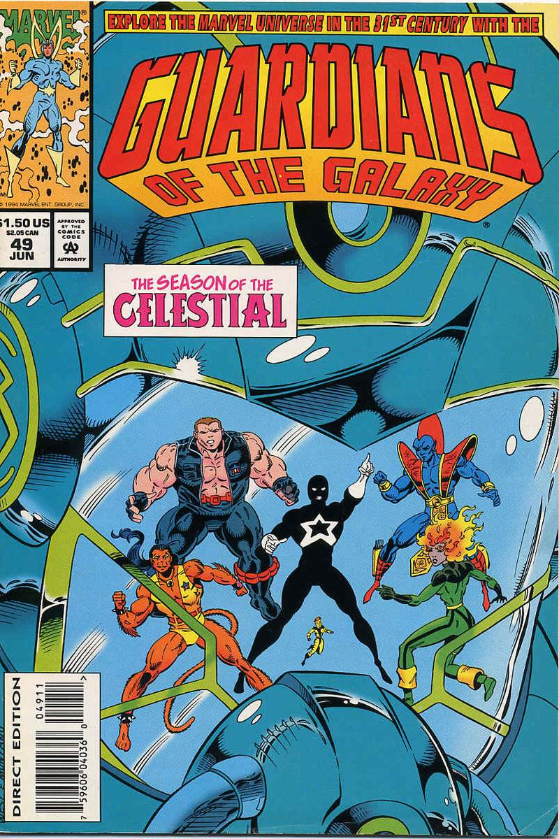 Guardians of the Galaxy (1990) 49 Page 1