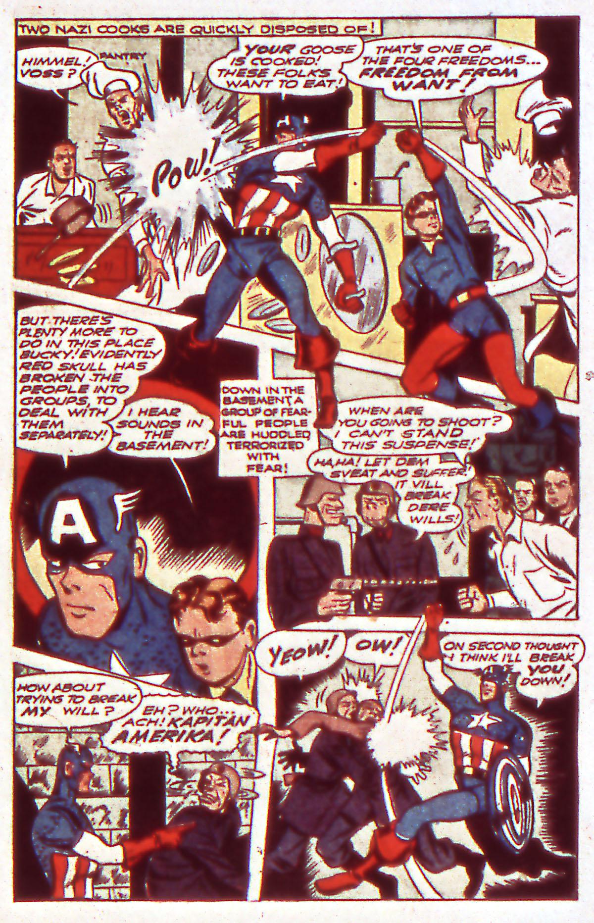Read online All-Winners Comics comic -  Issue #12 - 21