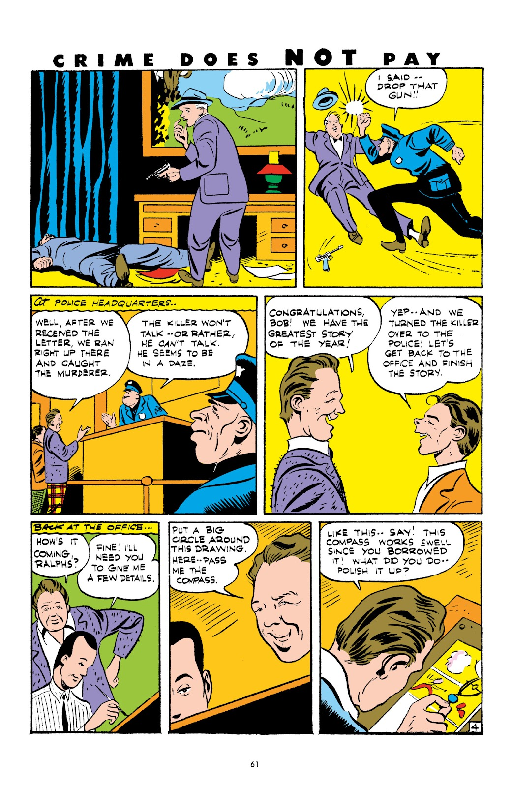 Read online Crime Does Not Pay Archives comic -  Issue # TPB 3 (Part 1) - 61