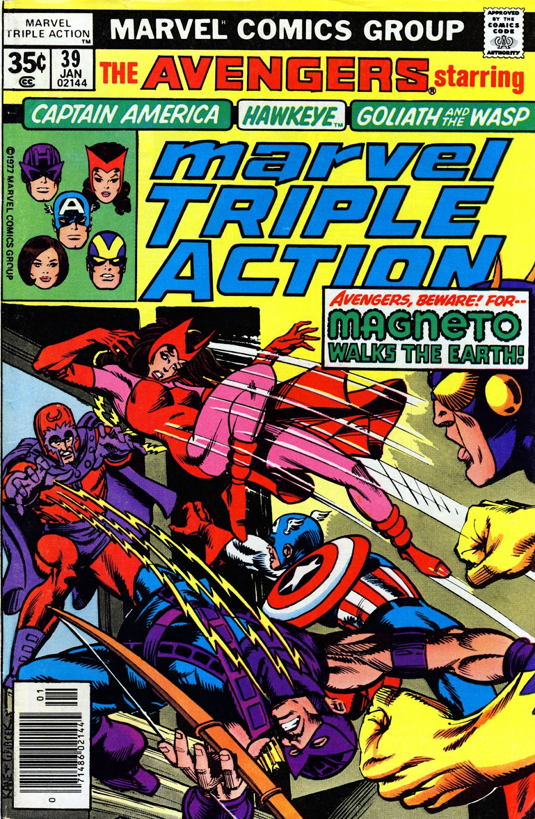 Marvel Triple Action (1972) issue 39 - Page 1