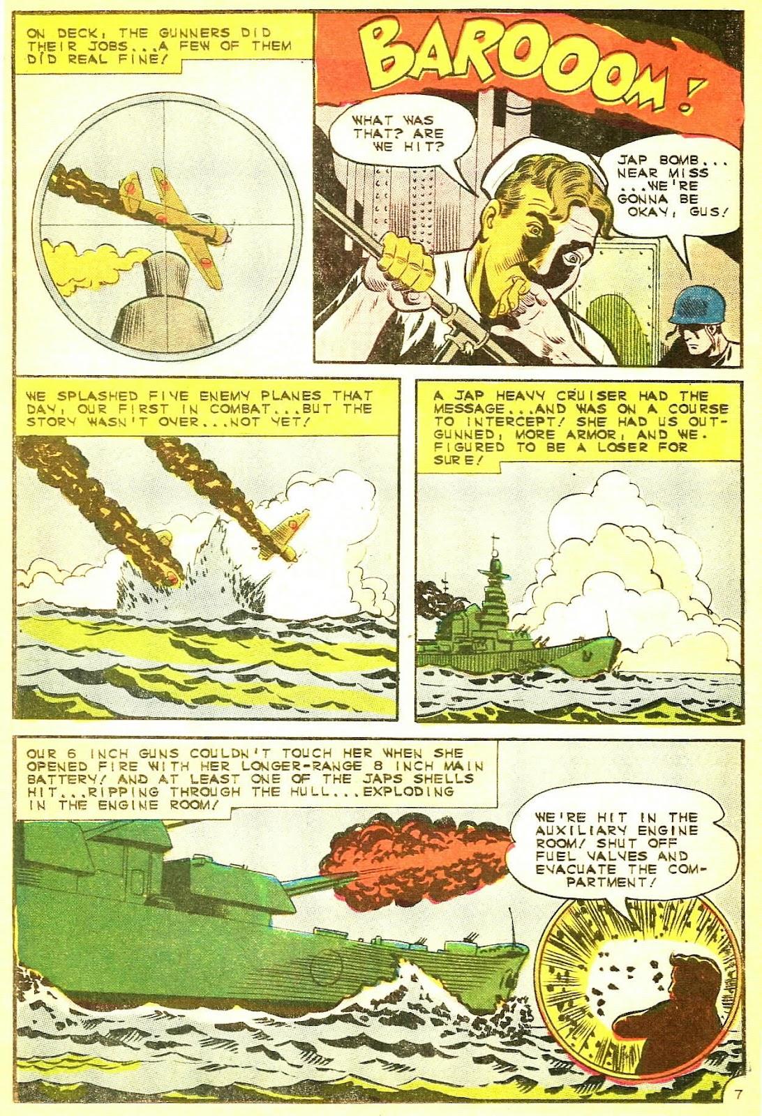 Read online Fightin' Navy comic -  Issue #124 - 11