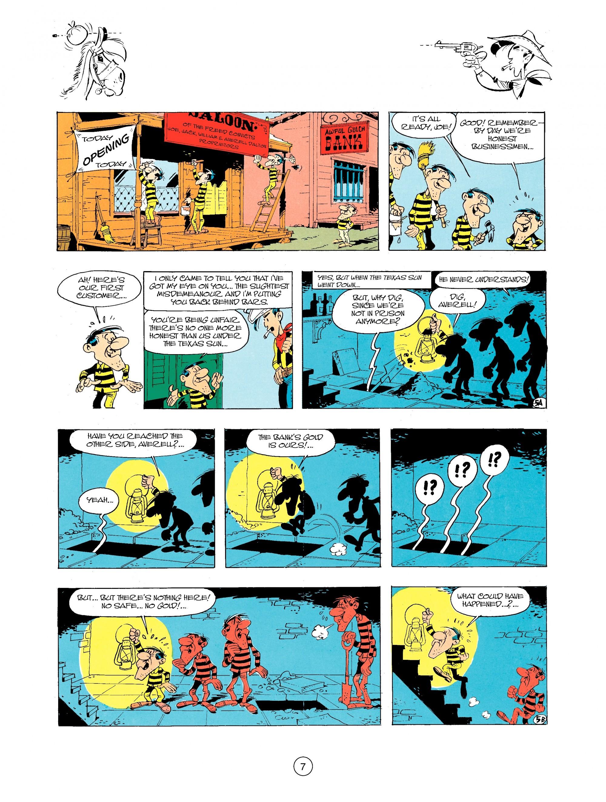 Read online A Lucky Luke Adventure comic -  Issue #34 - 7