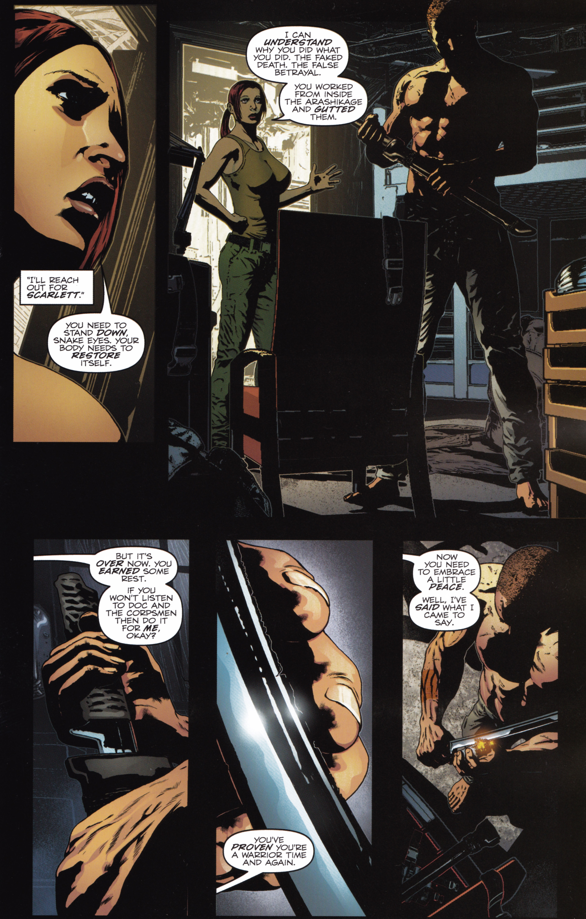 Read online Snake Eyes and Storm Shadow comic -  Issue #20 - 5