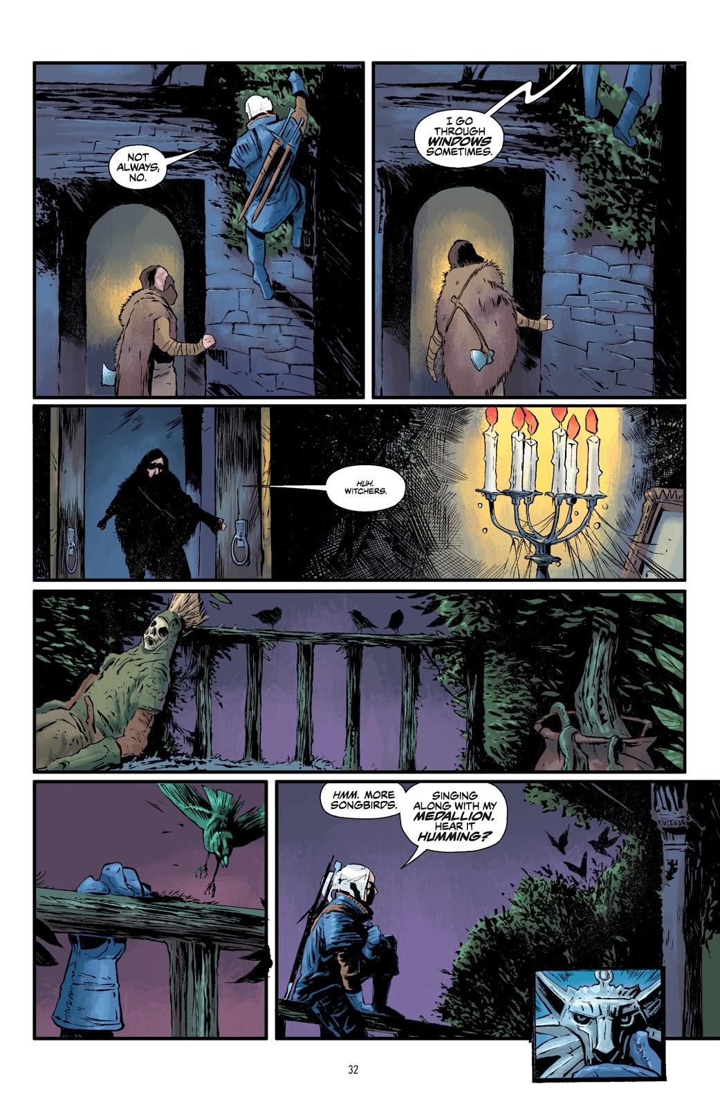 Read online The Witcher Omnibus comic -  Issue # TPB (Part 1) - 32