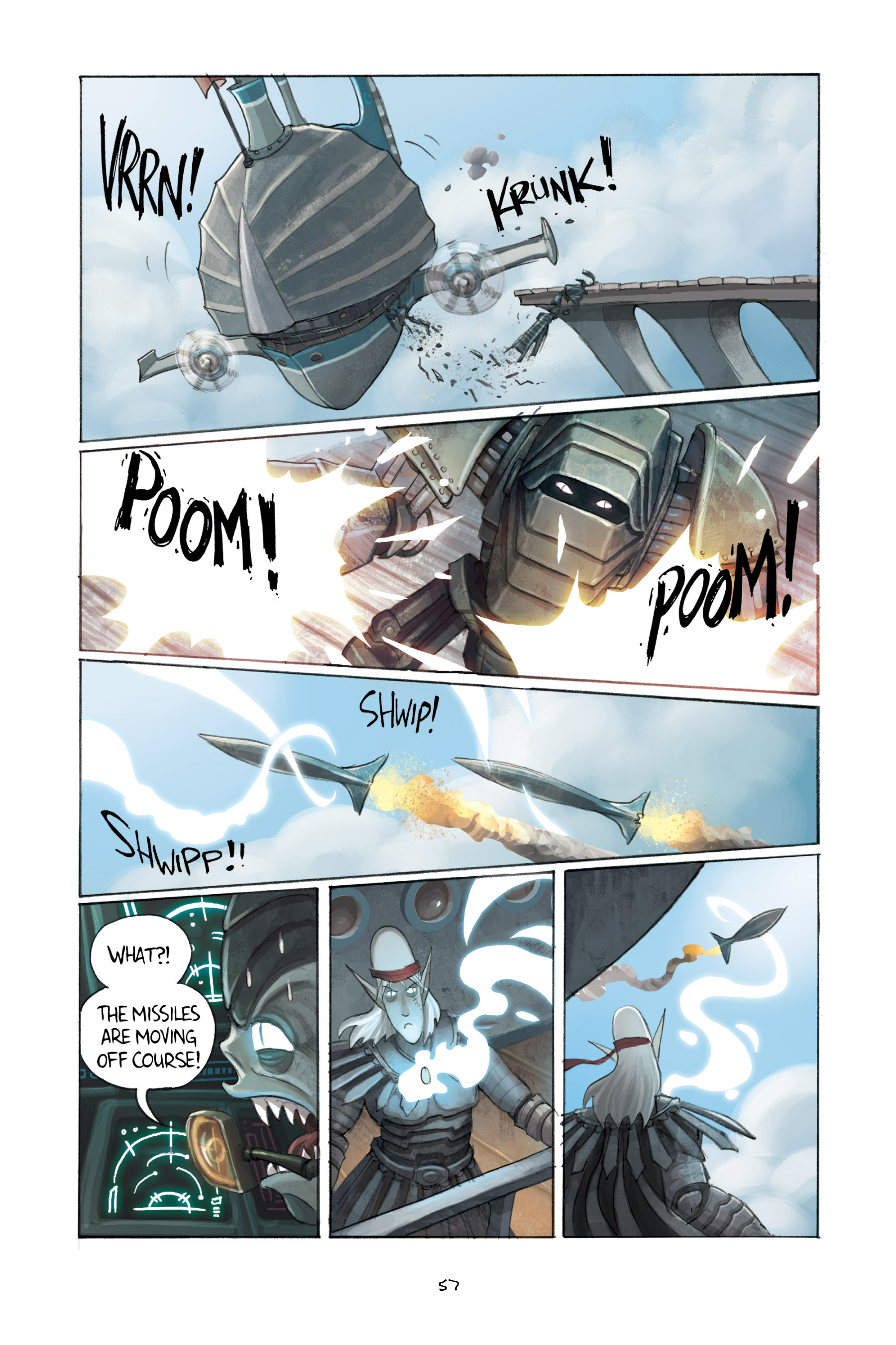 Read online Amulet comic -  Issue #3 - 56