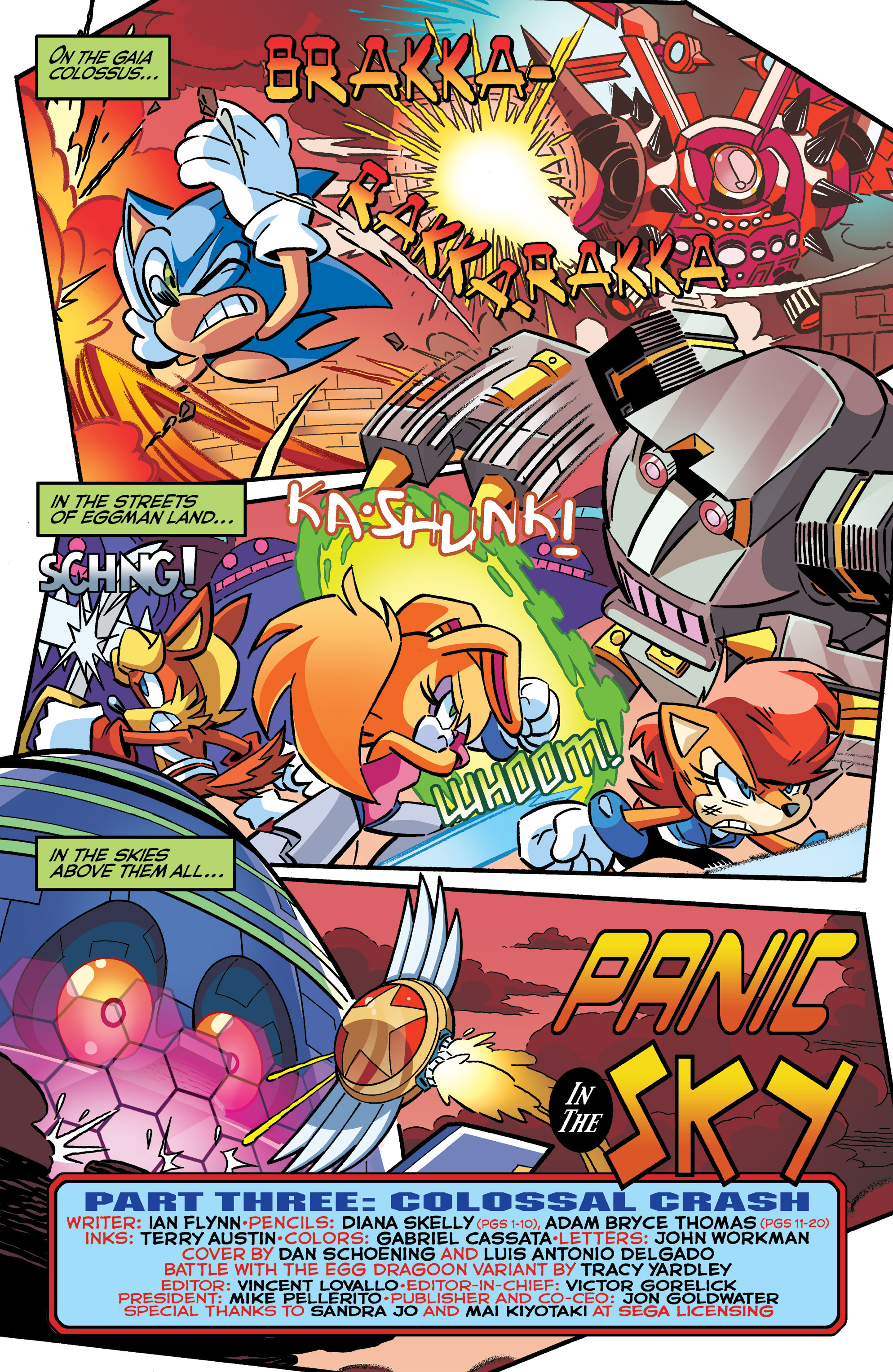 Read online Sonic The Hedgehog comic -  Issue #286 - 3