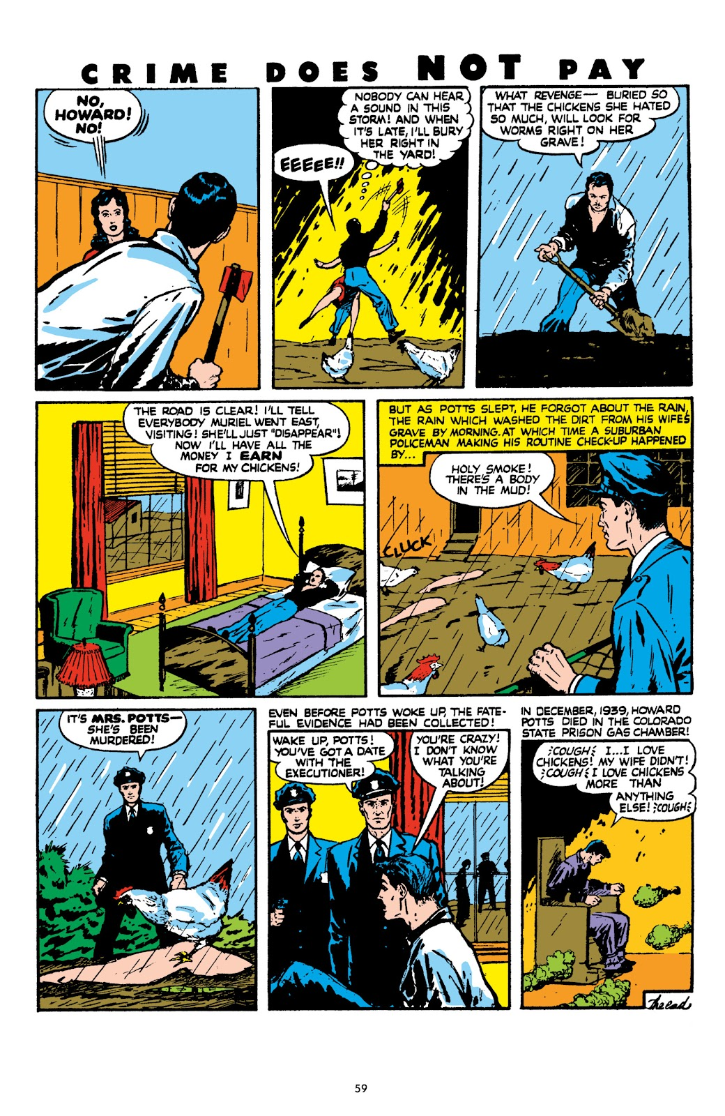 Read online Crime Does Not Pay Archives comic -  Issue # TPB 8 (Part 1) - 60