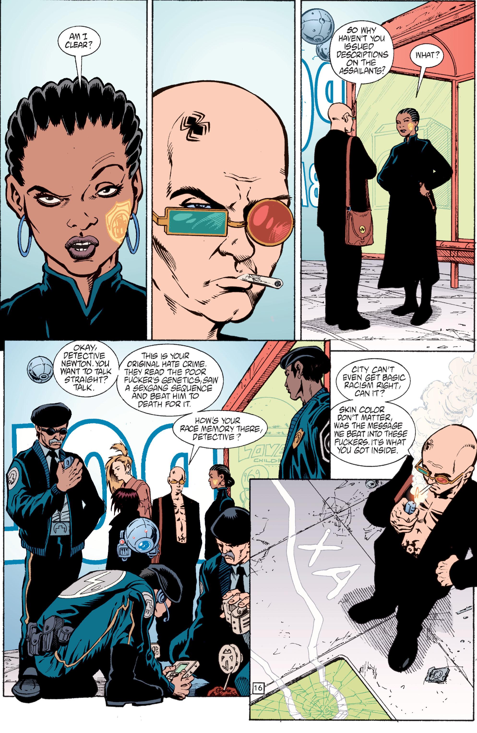 Read online Transmetropolitan comic -  Issue #28 - 17