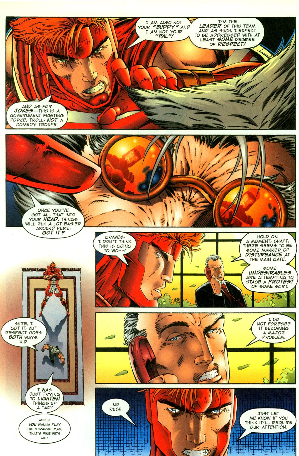 Read online Youngblood GT Interactive Ultra Game Players Special Edition comic -  Issue # Full - 11