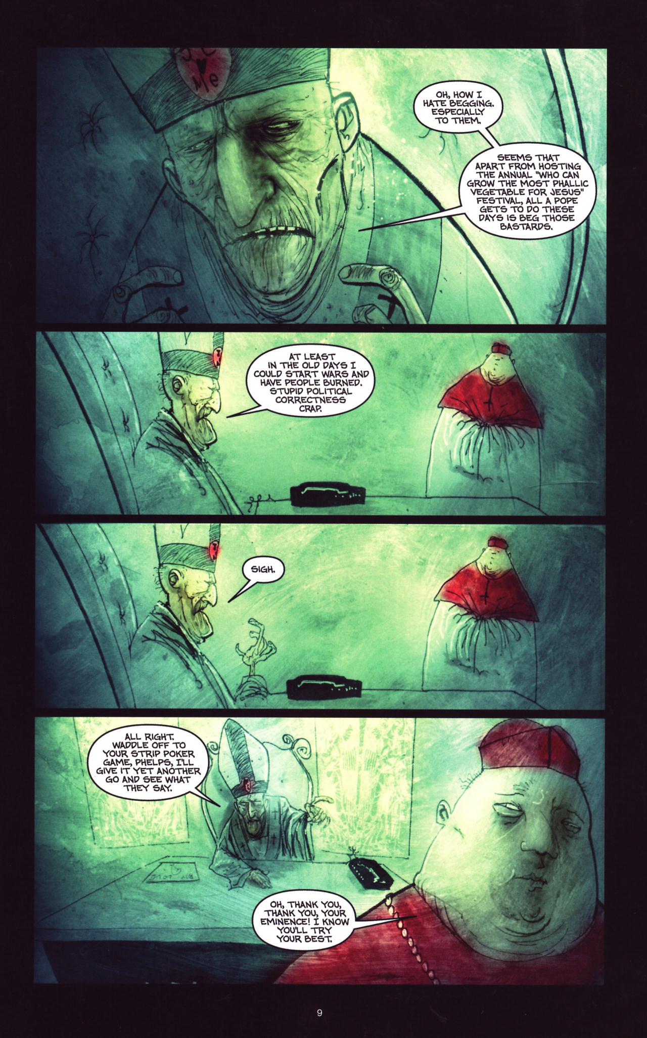 Read online Wormwood: Gentleman Corpse comic -  Issue #8 - 10