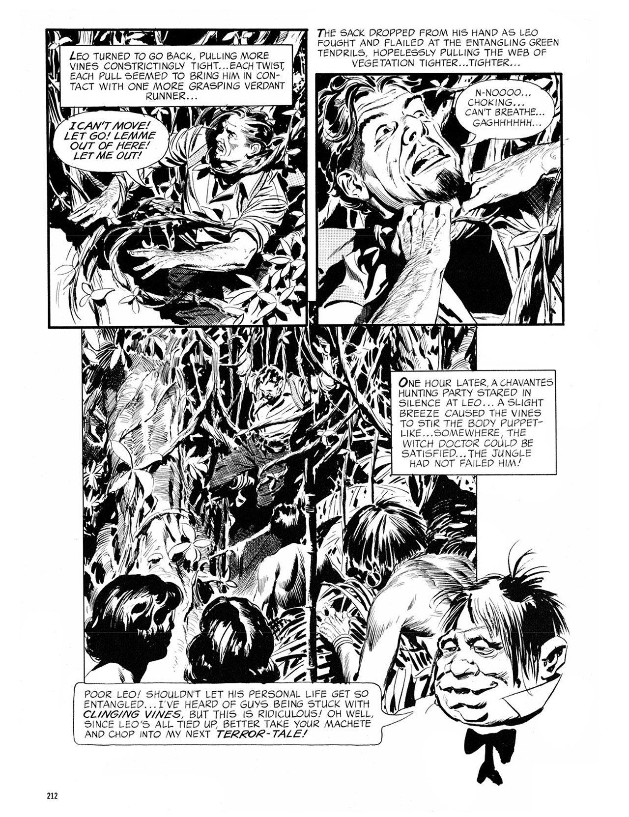Read online Eerie Archives comic -  Issue # TPB 1 - 213