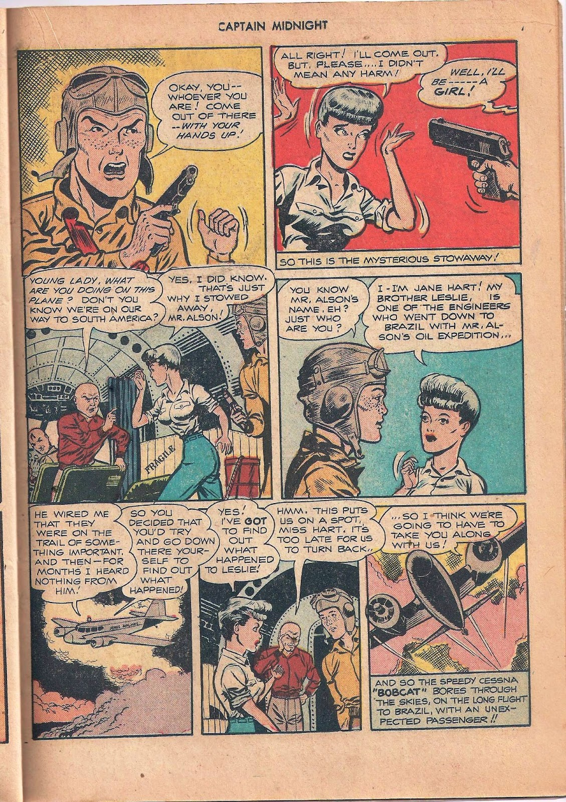 Captain Midnight (1942) issue 53 - Page 35