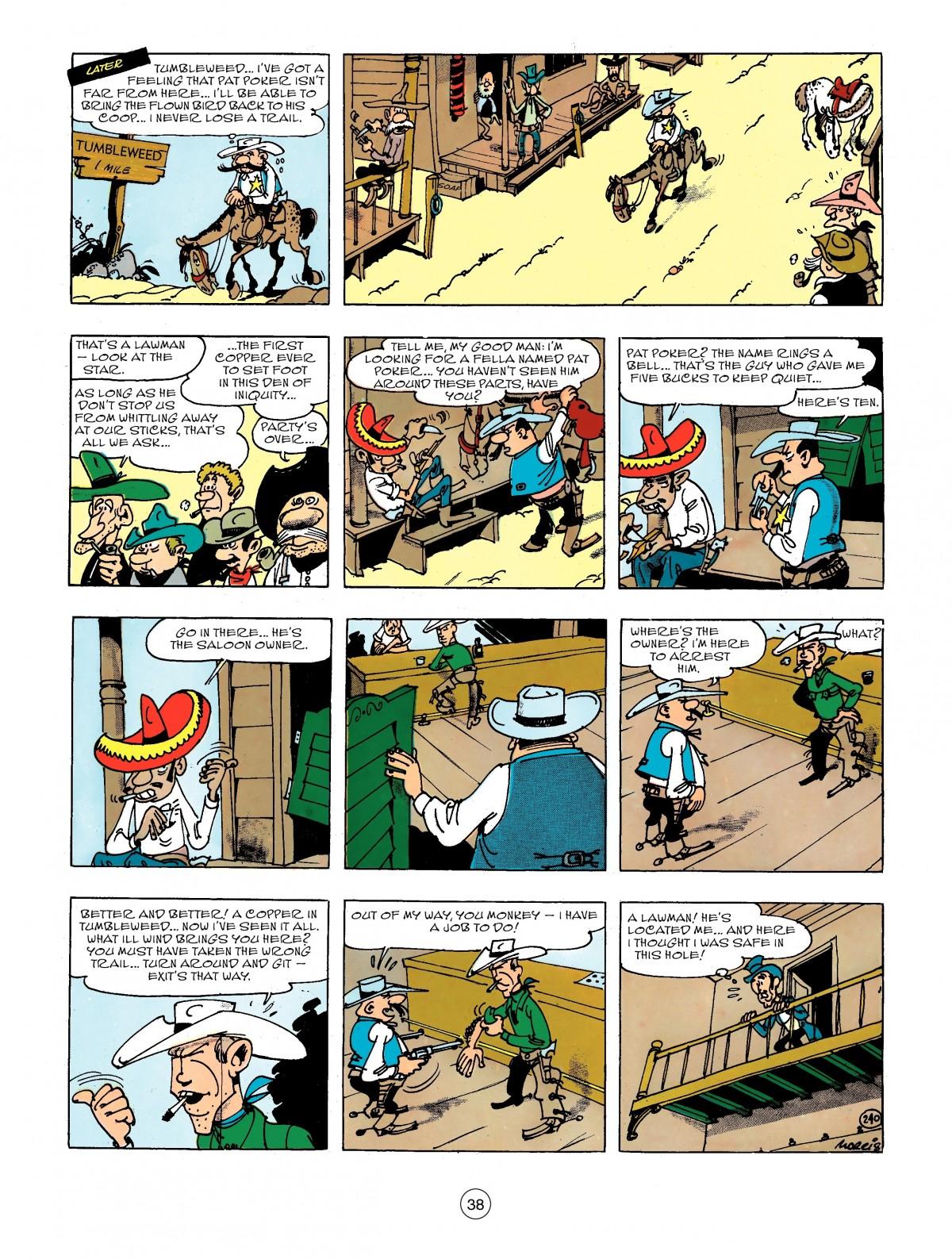 Read online A Lucky Luke Adventure comic -  Issue #44 - 38