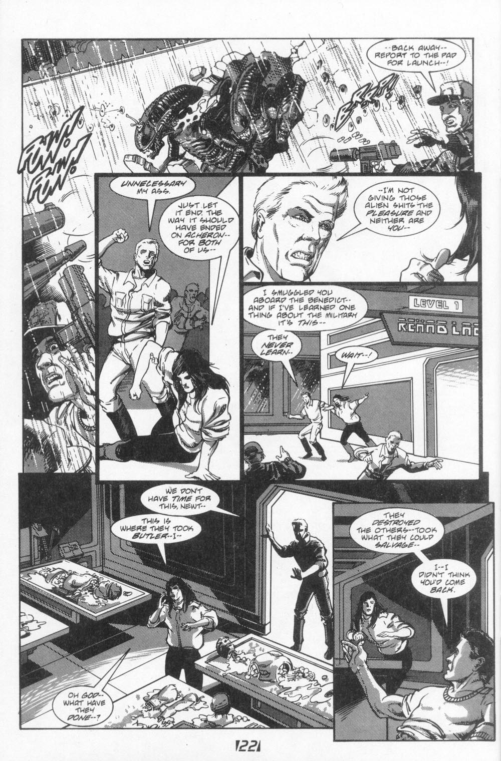 Read online Aliens (1988) comic -  Issue #6 - 24