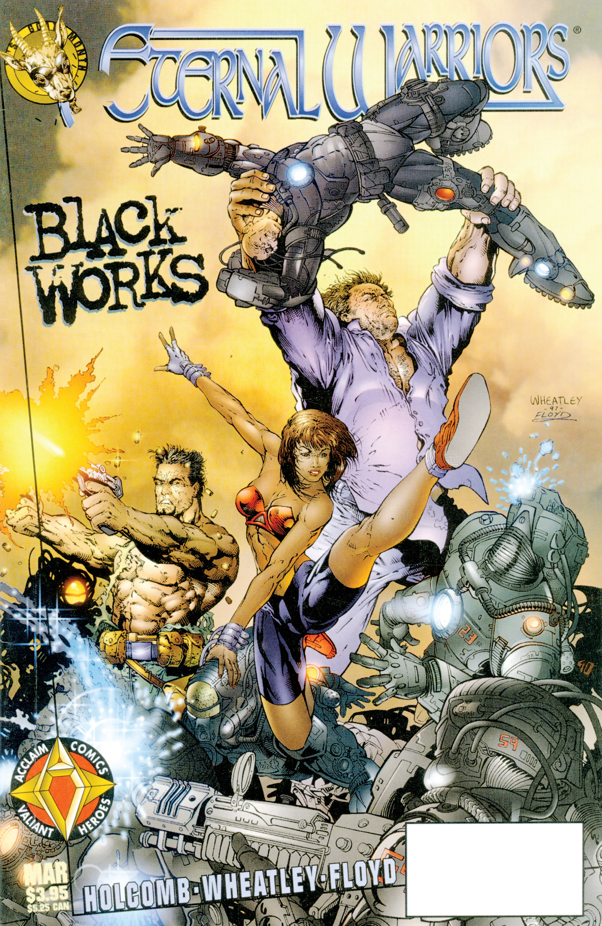 Read online Eternal Warriors comic -  Issue # Issue Blackworks - 1