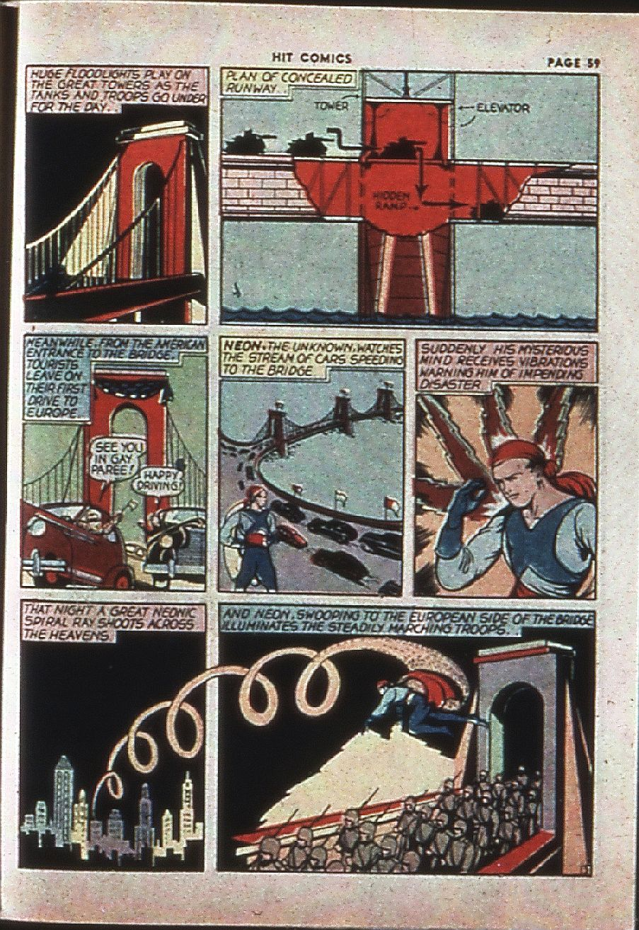 Read online Hit Comics comic -  Issue #4 - 61