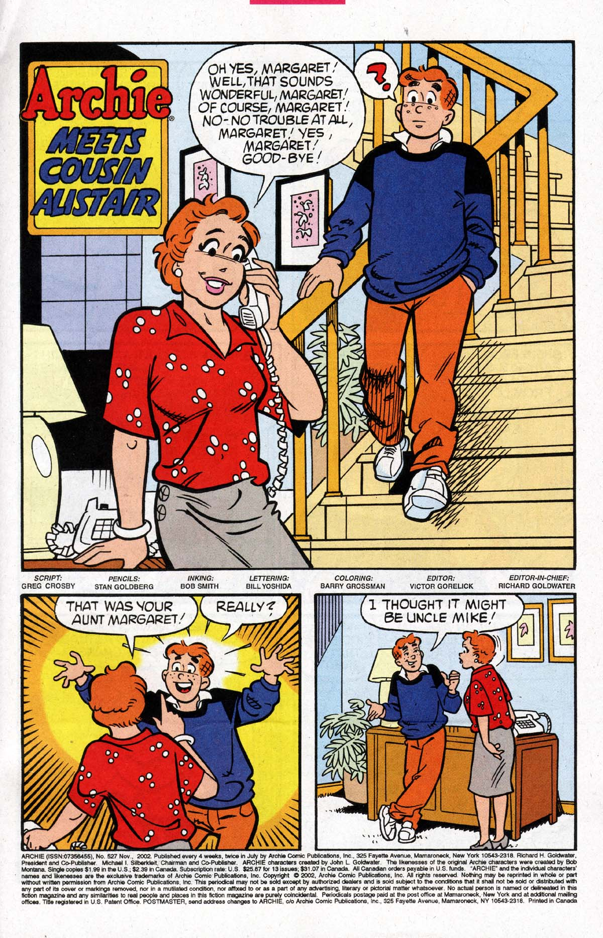 Read online Archie (1960) comic -  Issue #527 - 2