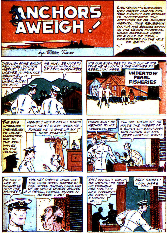 Read online Adventure Comics (1938) comic -  Issue #43 - 44