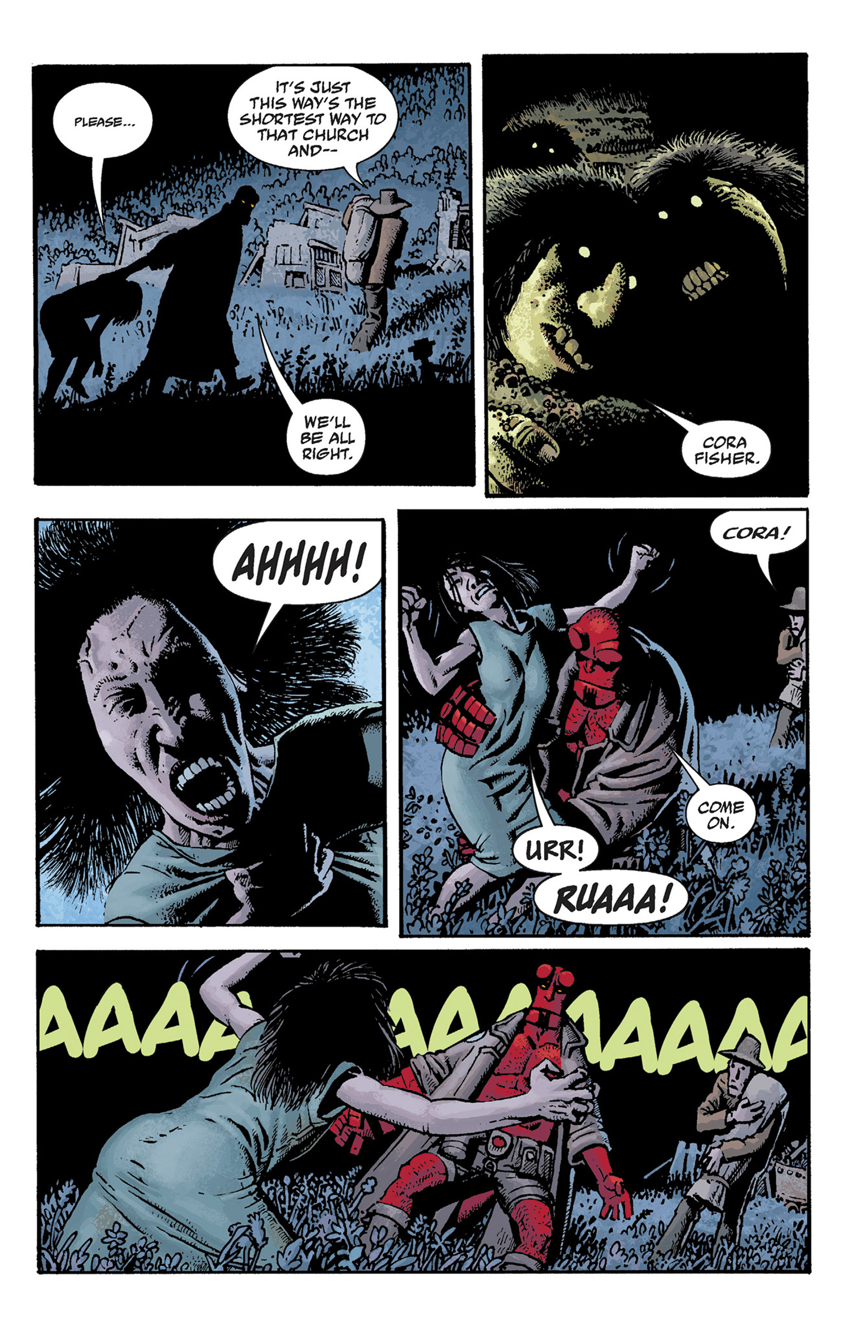 Read online Hellboy: The Crooked Man and Others comic -  Issue # TPB - 41
