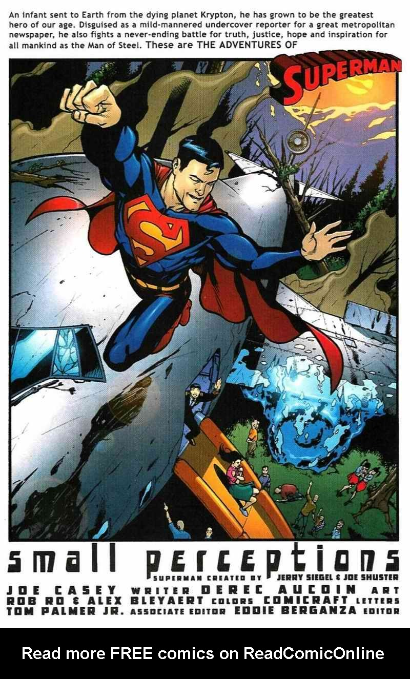Read online Adventures of Superman (1987) comic -  Issue #610 - 6