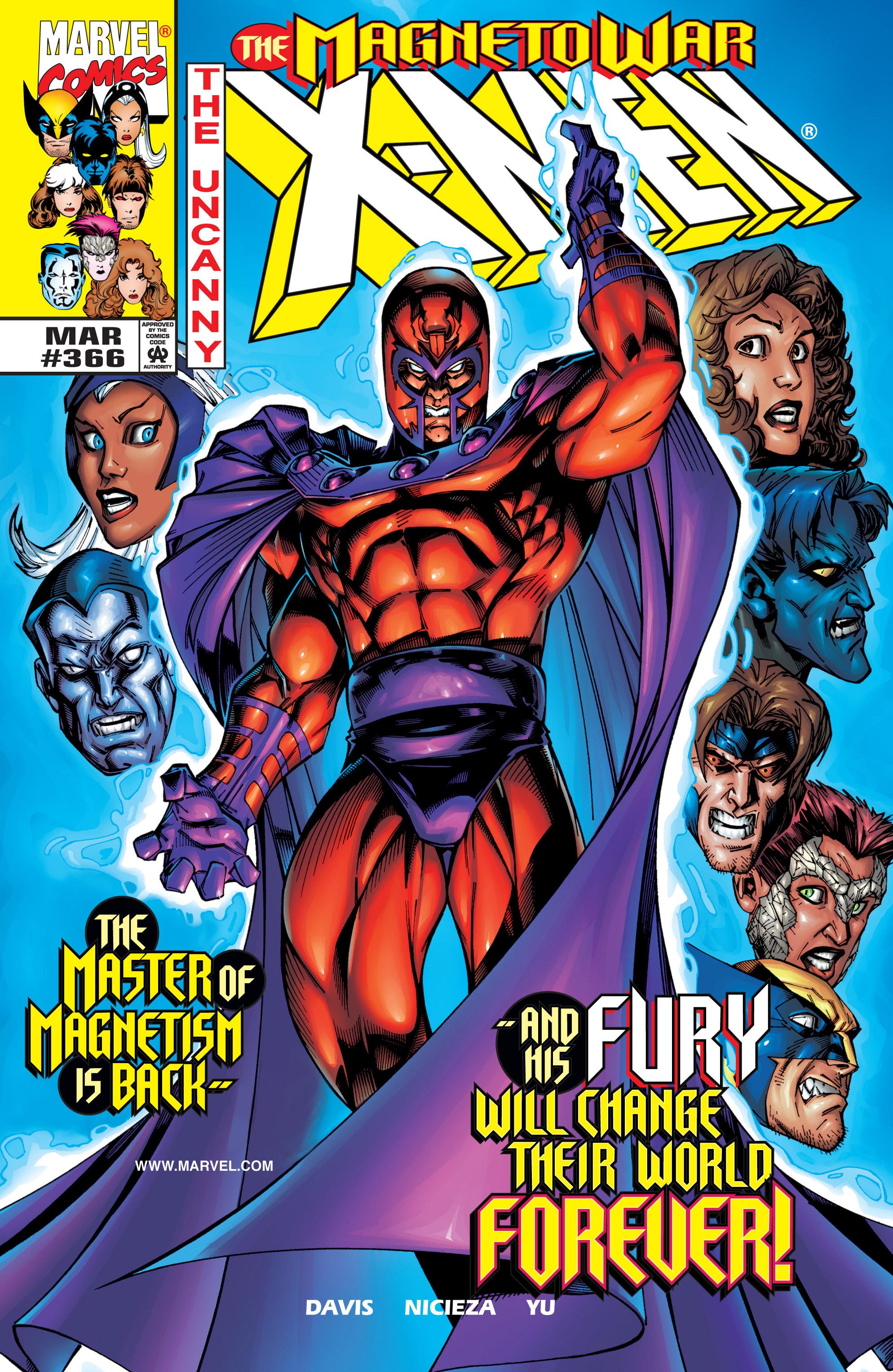 Read online Uncanny X-Men (1963) comic -  Issue #366 - 1