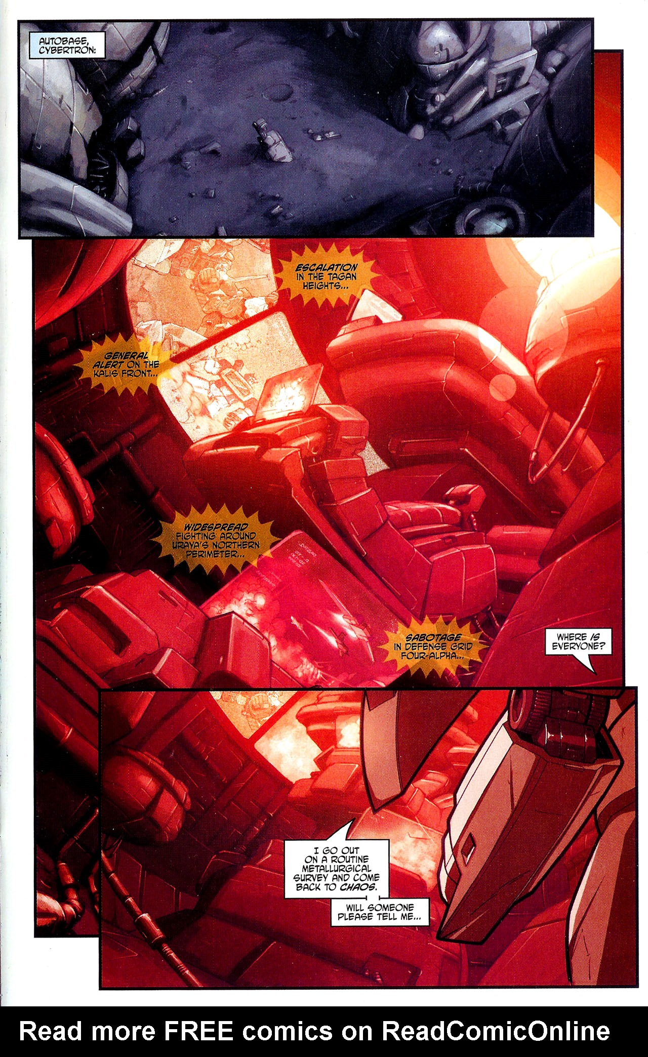 """Read online Transformers War Within: """"The Dark Ages"""" comic -  Issue #2 - 22"""