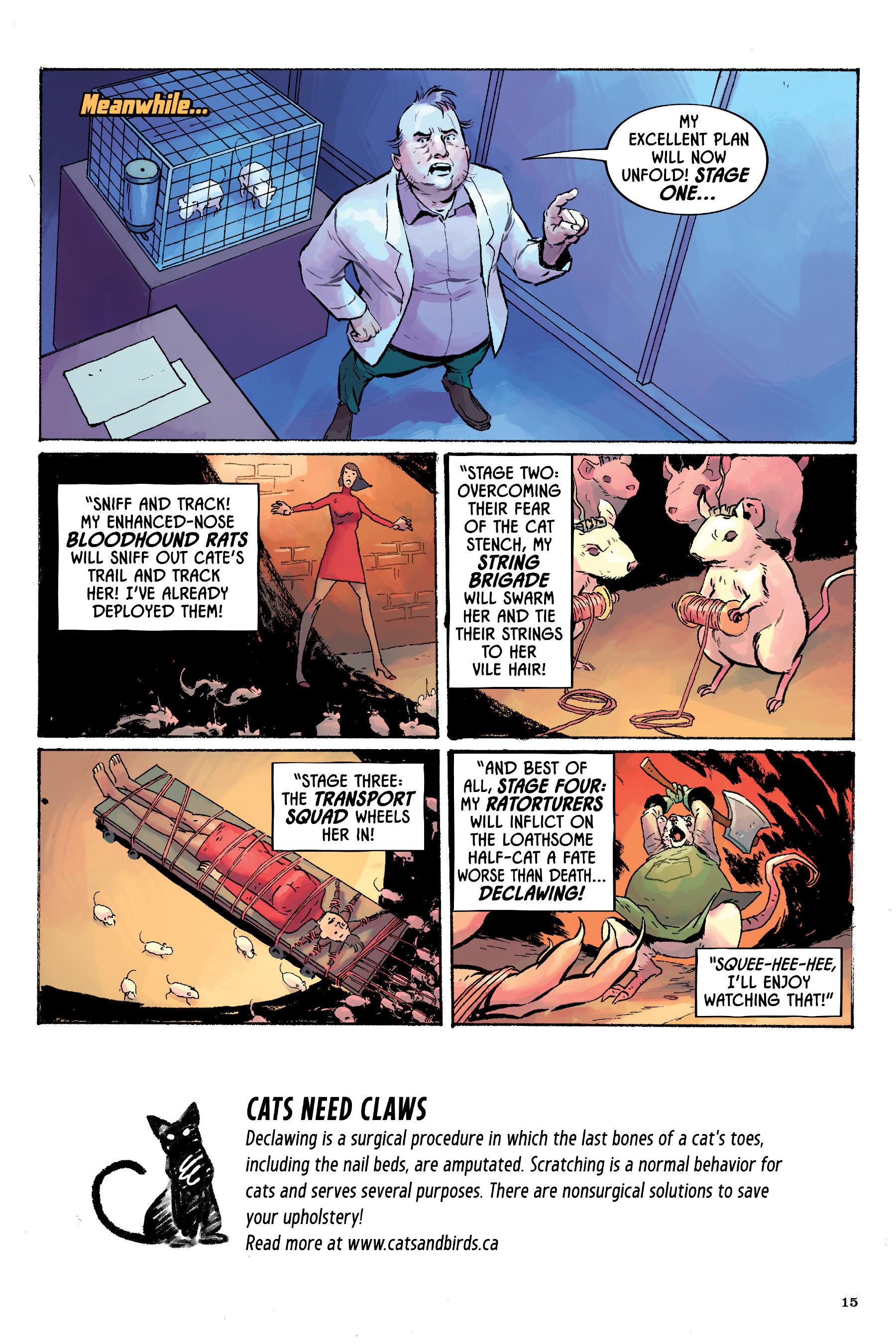 Read online Angel Catbird comic -  Issue # TPB 2 - 16