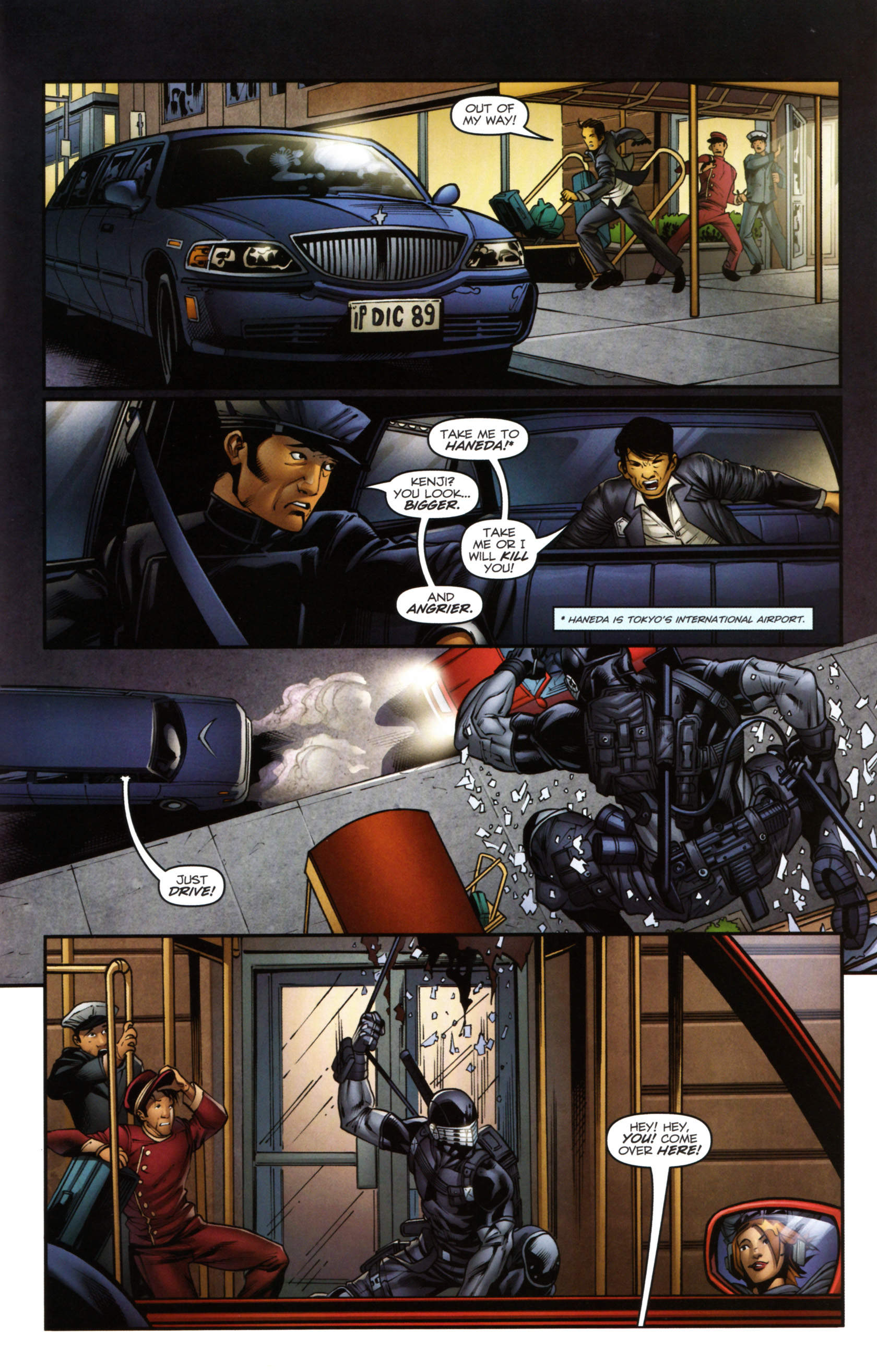 Read online Snake Eyes and Storm Shadow comic -  Issue #14 - 20
