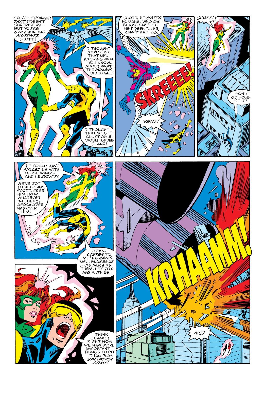 Read online X-Men Milestones: Fall of the Mutants comic -  Issue # TPB (Part 3) - 24