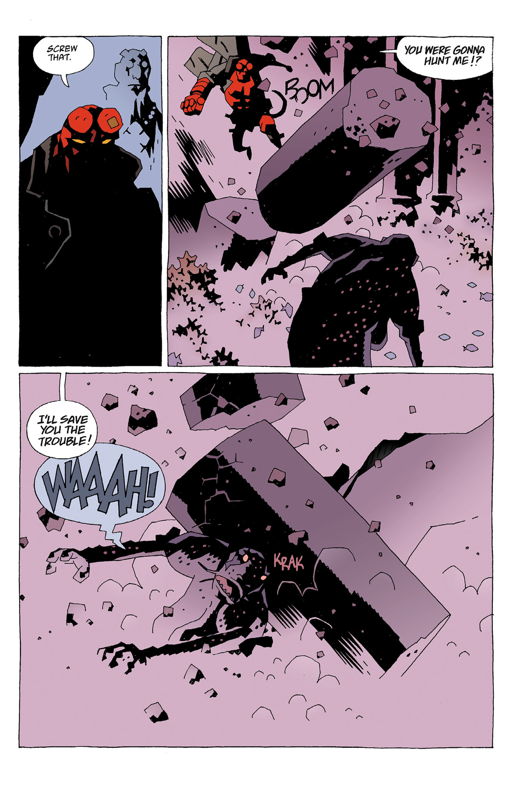 Read online Hellboy: Strange Places comic -  Issue # TPB - 55