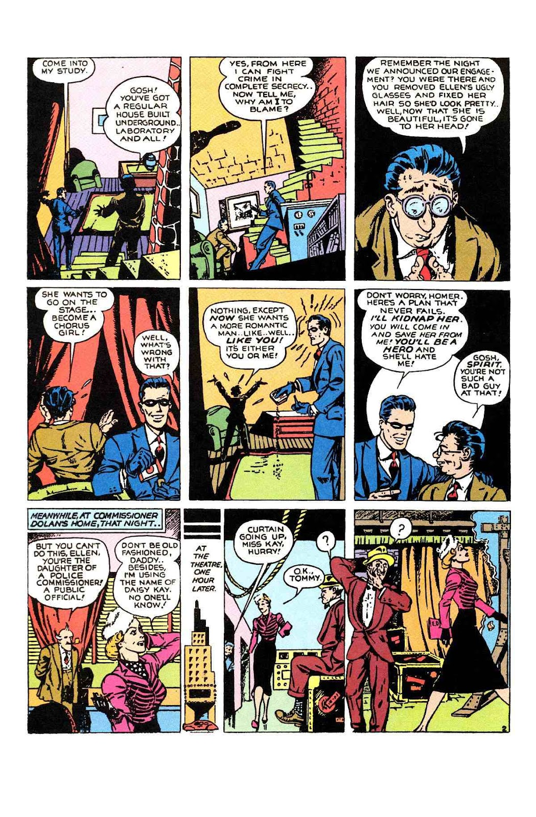 Read online Will Eisner's The Spirit Archives comic -  Issue # TPB 1 (Part 1) - 73