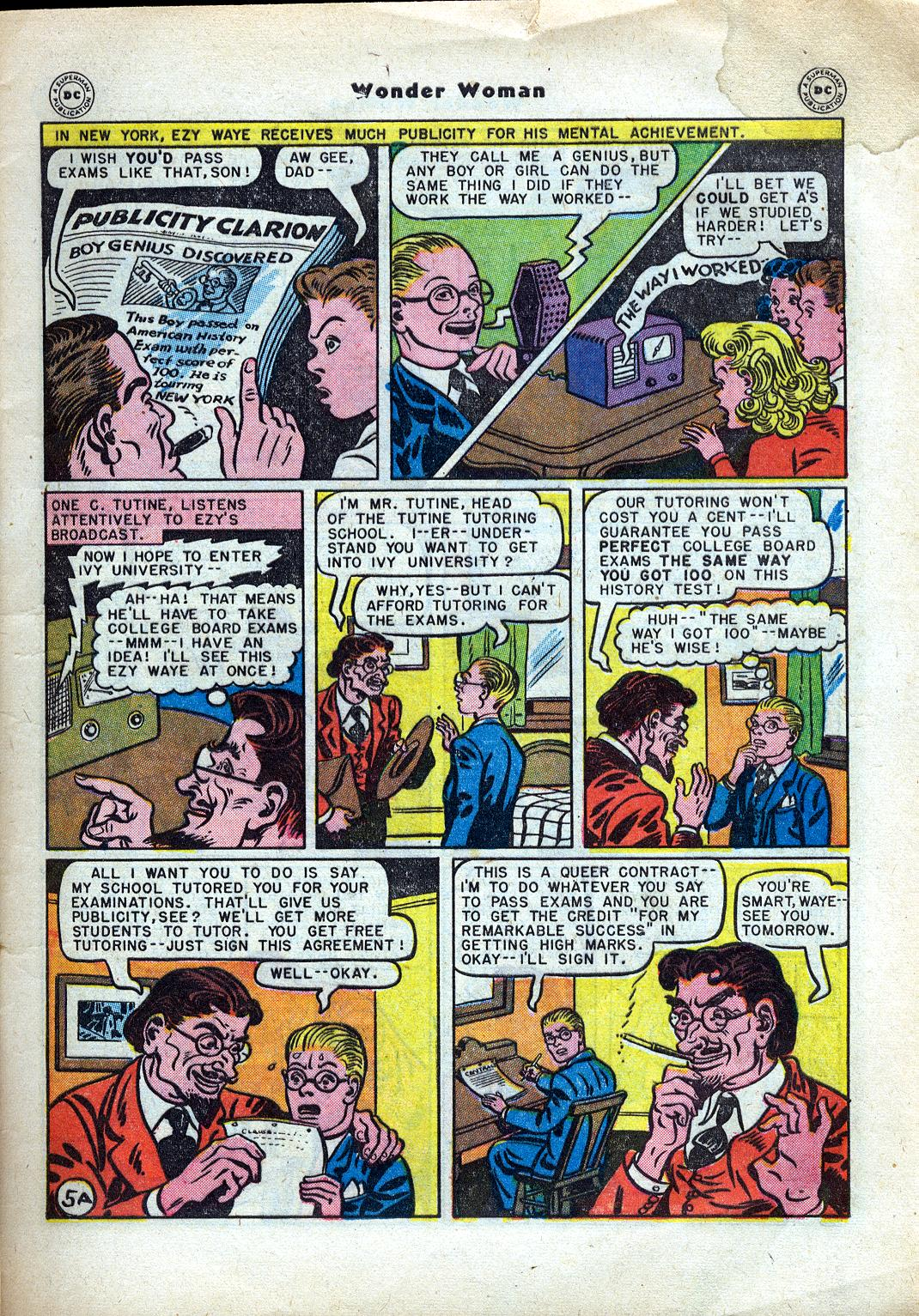 Read online Wonder Woman (1942) comic -  Issue #24 - 7