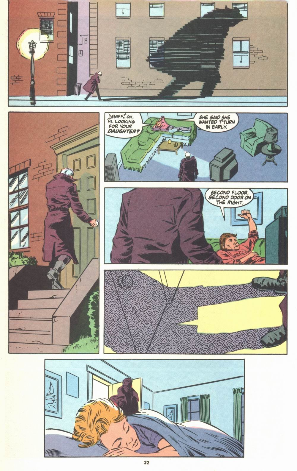 Read online Justice (1986) comic -  Issue #23 - 24