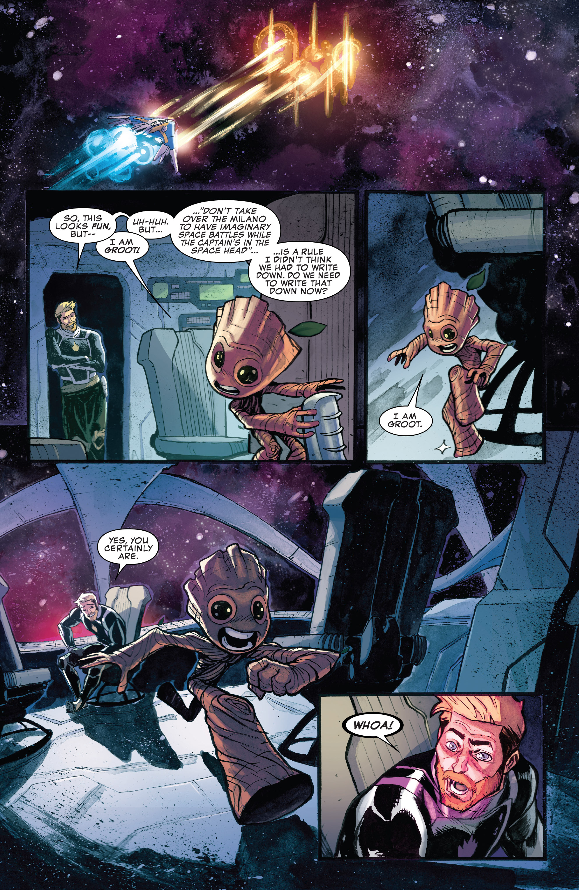 Read online I Am Groot comic -  Issue #1 - 4