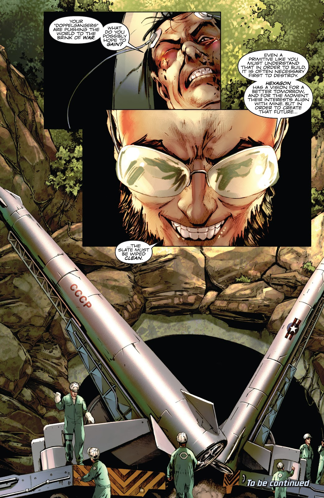 Read online Codename: Action comic -  Issue #3 - 25