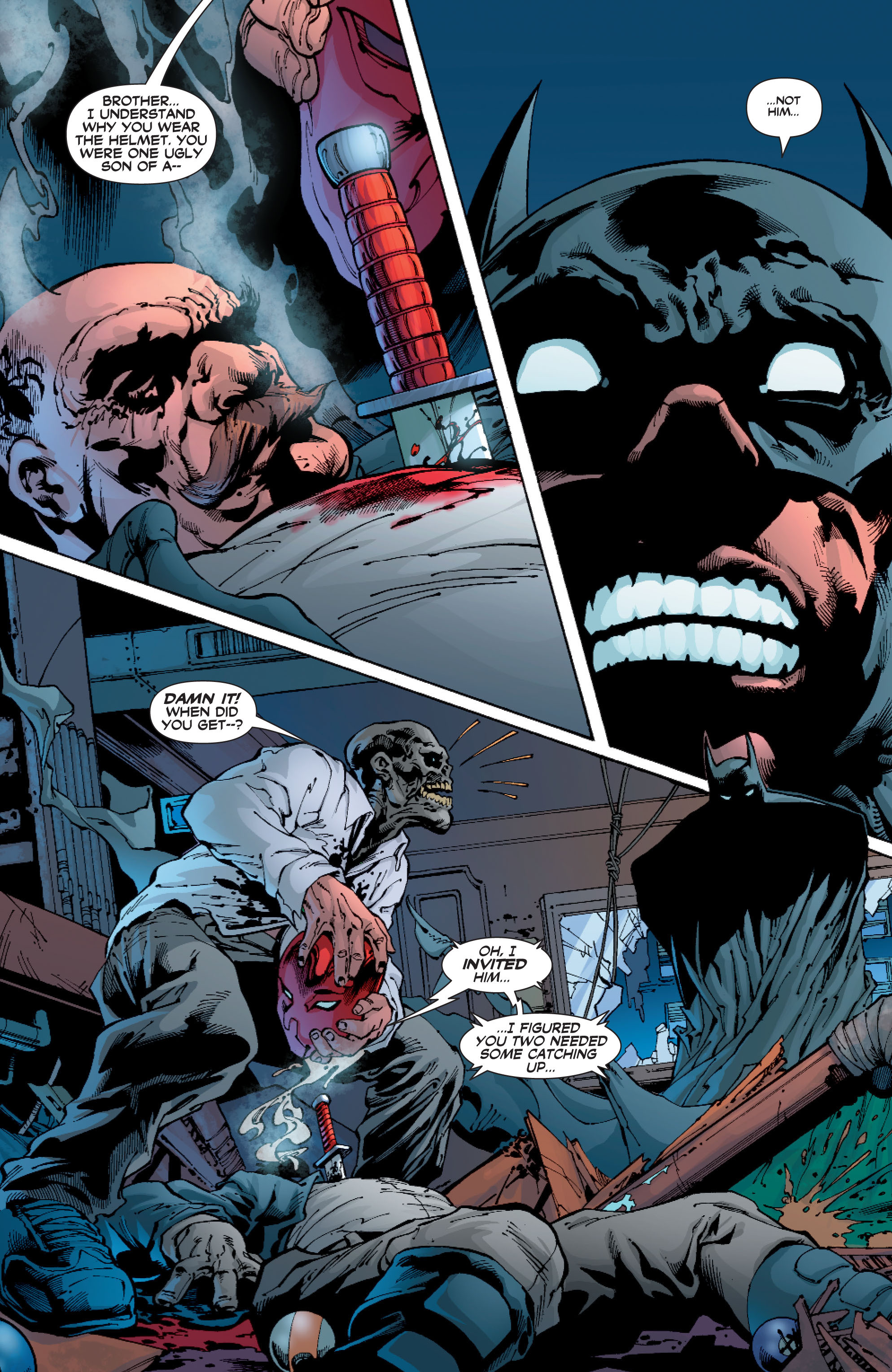 Read online Batman: Under The Red Hood comic -  Issue # Full - 274