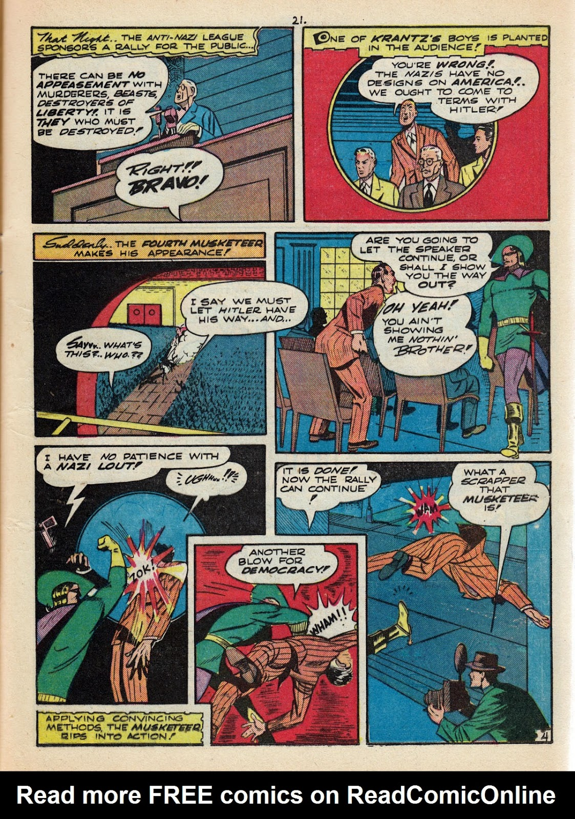 Read online Comedy Comics (1942) comic -  Issue #10 - 23