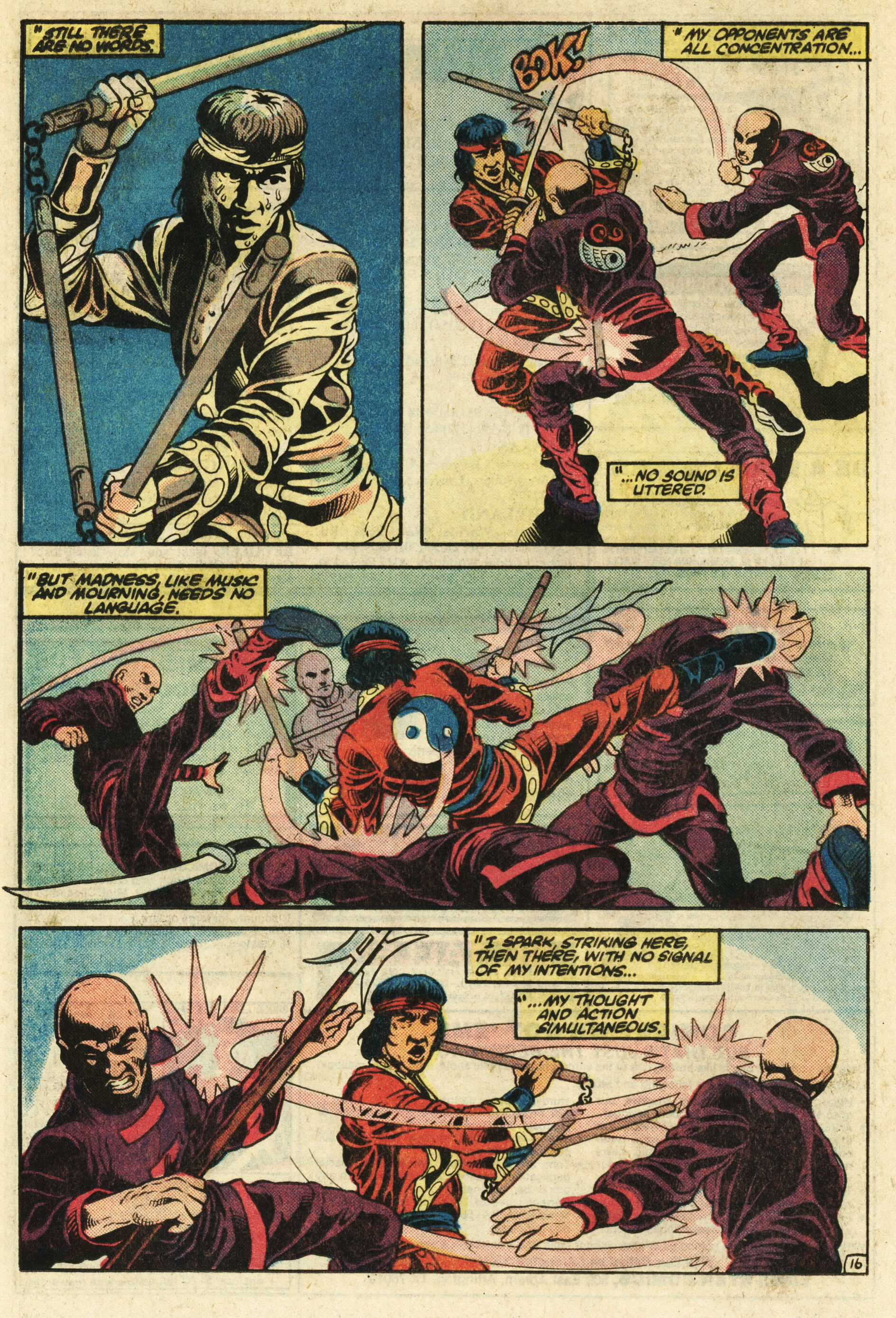 Read online Master of Kung Fu (1974) comic -  Issue #124 - 17