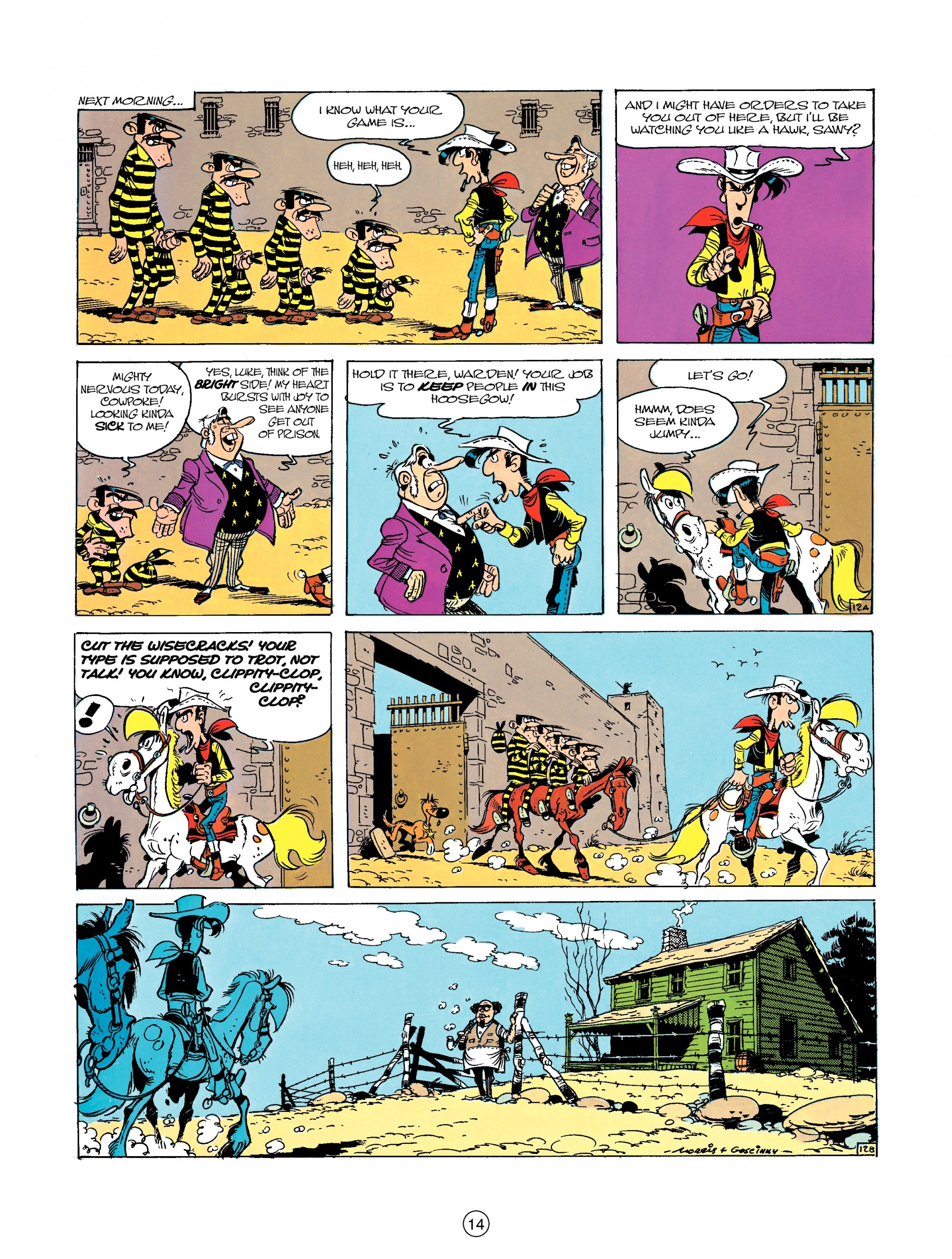 Read online A Lucky Luke Adventure comic -  Issue #23 - 14