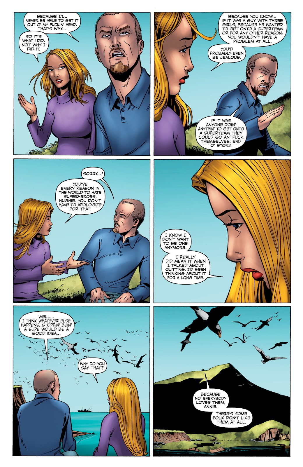 Read online The Boys Omnibus comic -  Issue # TPB 4 (Part 4) - 15