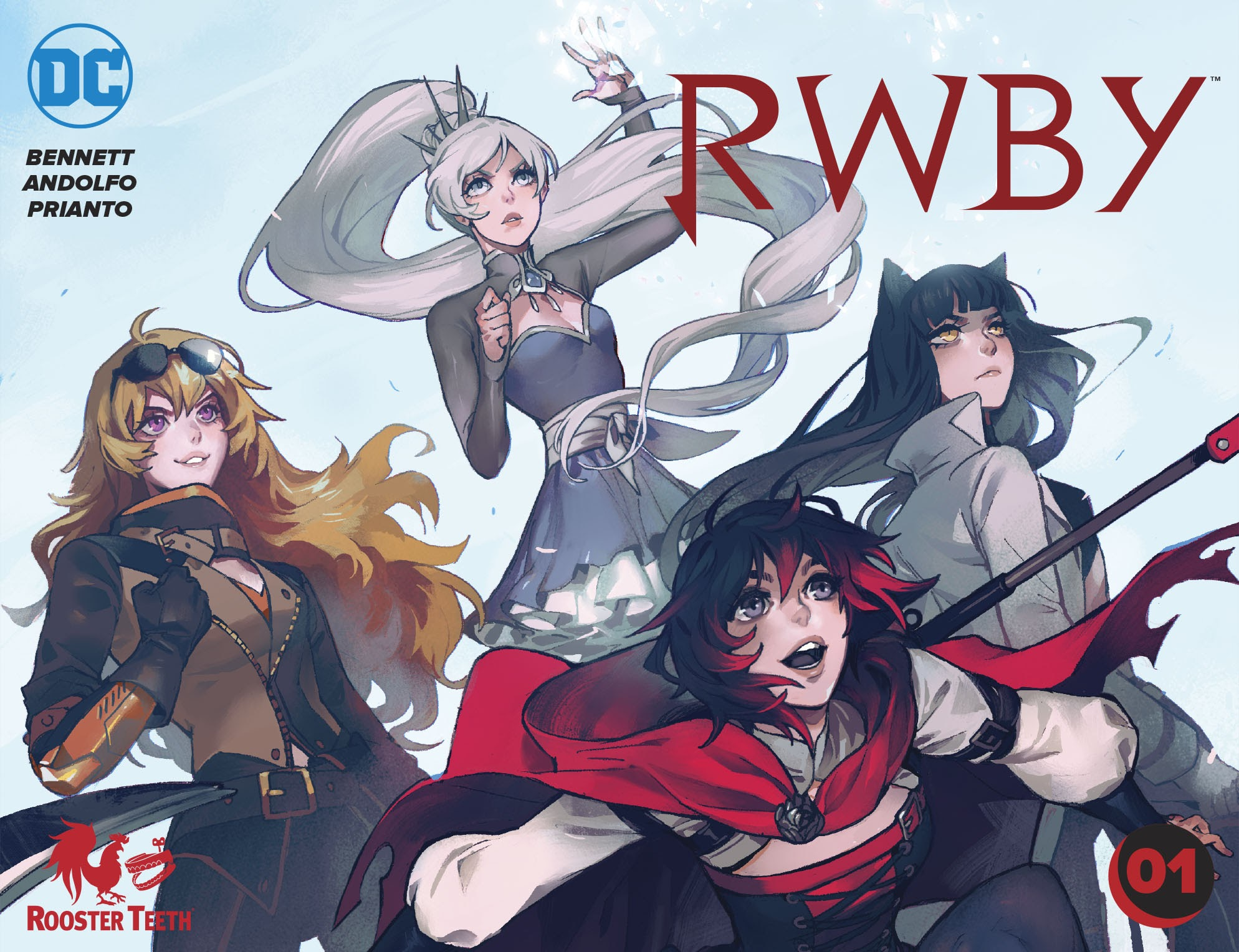 RWBY issue 1 - Page 1